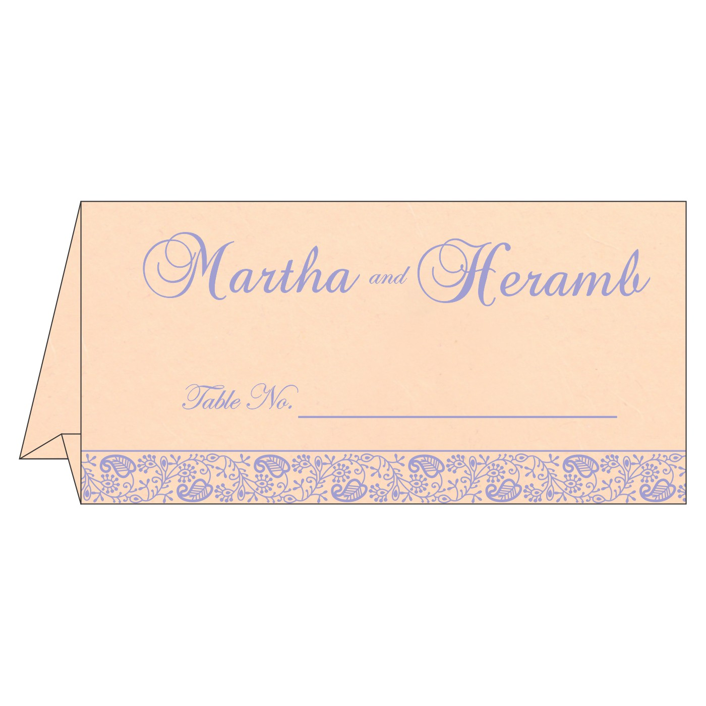 Table Cards : CTC-8215M - IndianWeddingCards