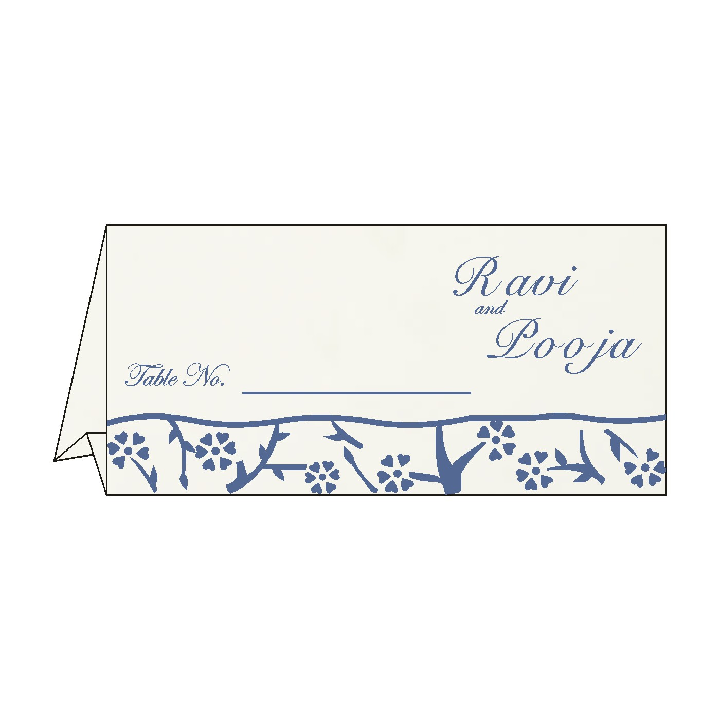 Table Cards : CTC-8216D - IndianWeddingCards