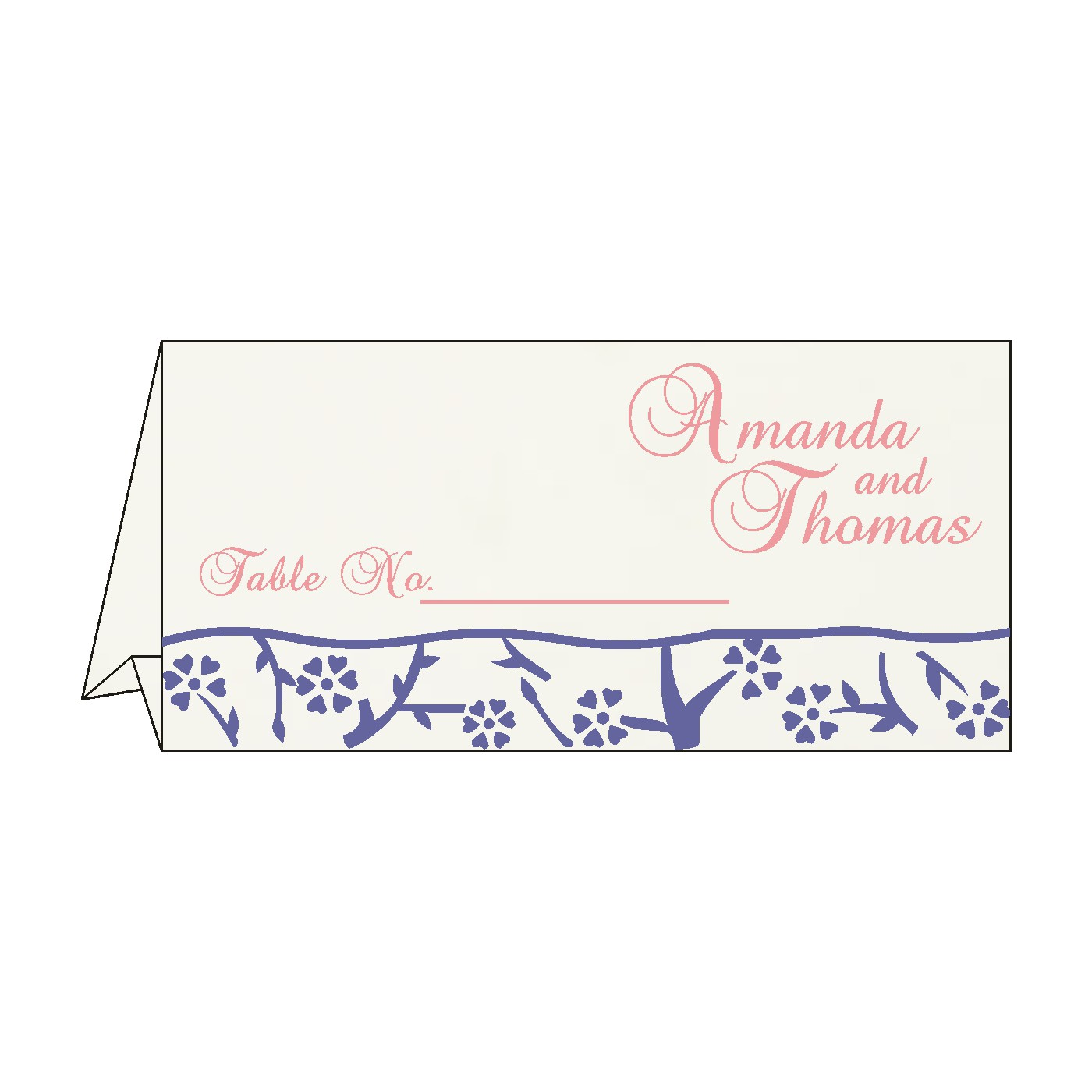 Table Cards : CTC-8216I - IndianWeddingCards