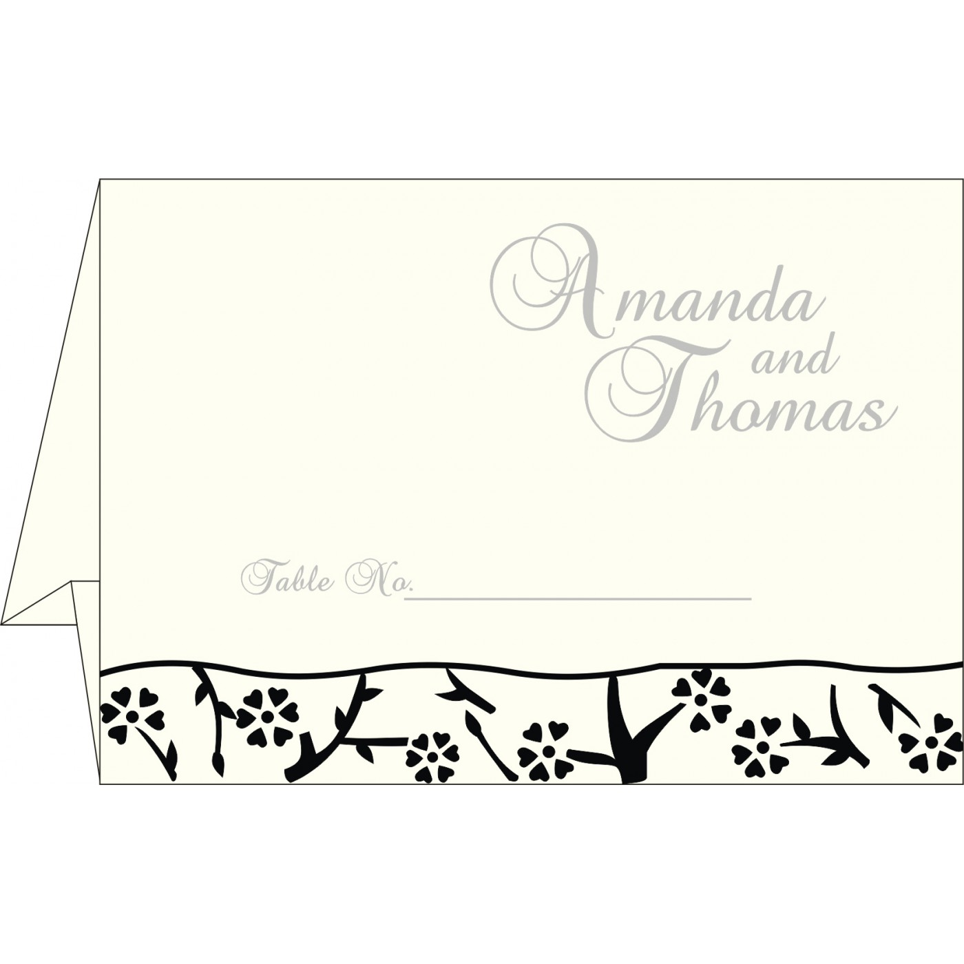 Table Cards : CTC-8216N - IndianWeddingCards