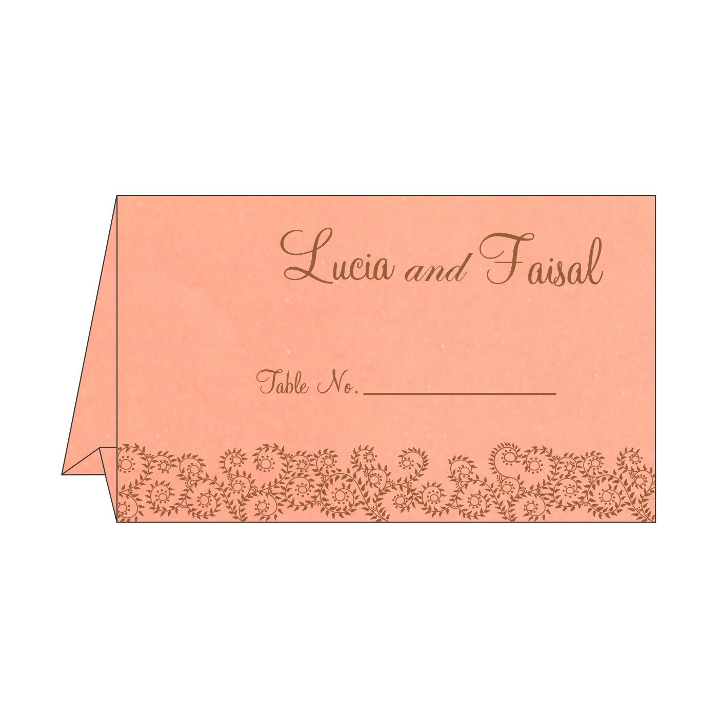Table Cards : CTC-8217N - IndianWeddingCards
