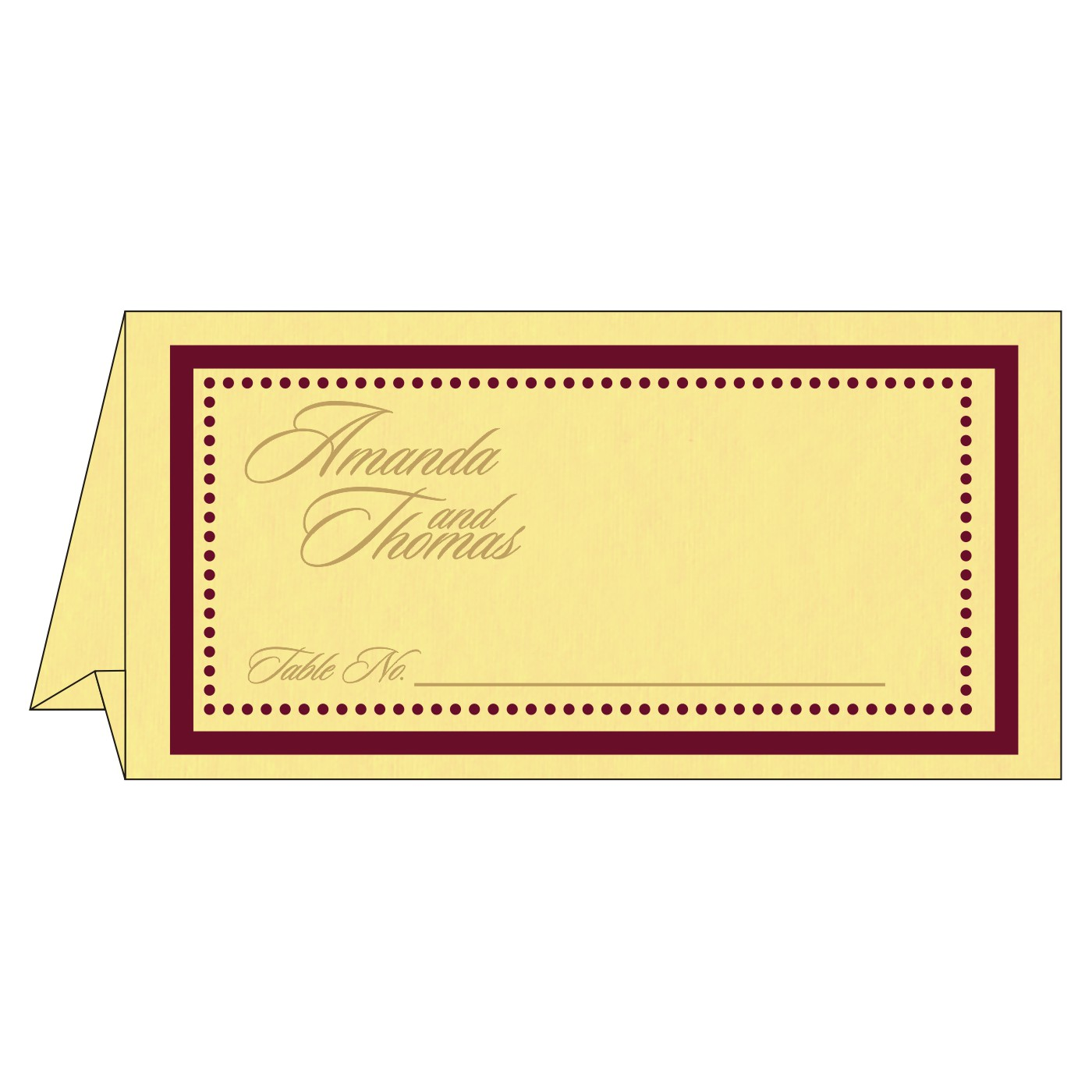 Table Cards : CTC-8219G - IndianWeddingCards