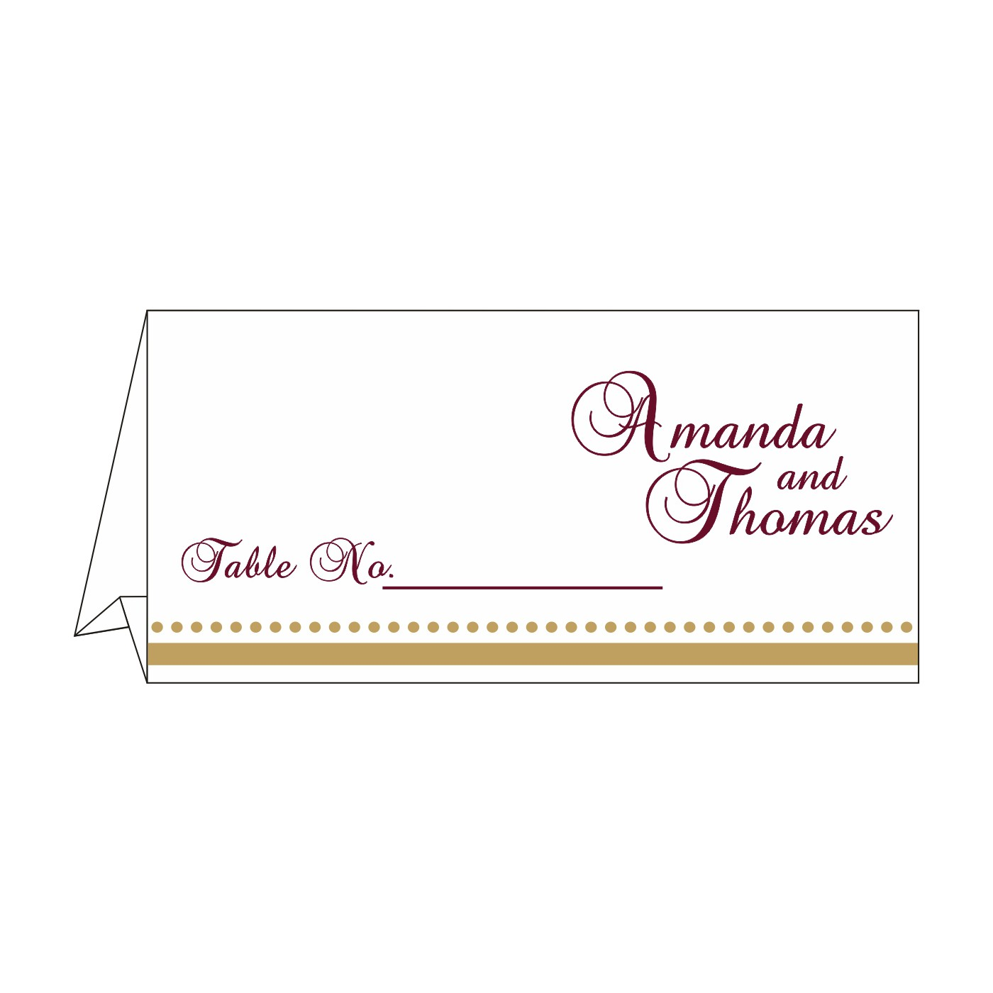 Table Cards : CTC-8219H - IndianWeddingCards