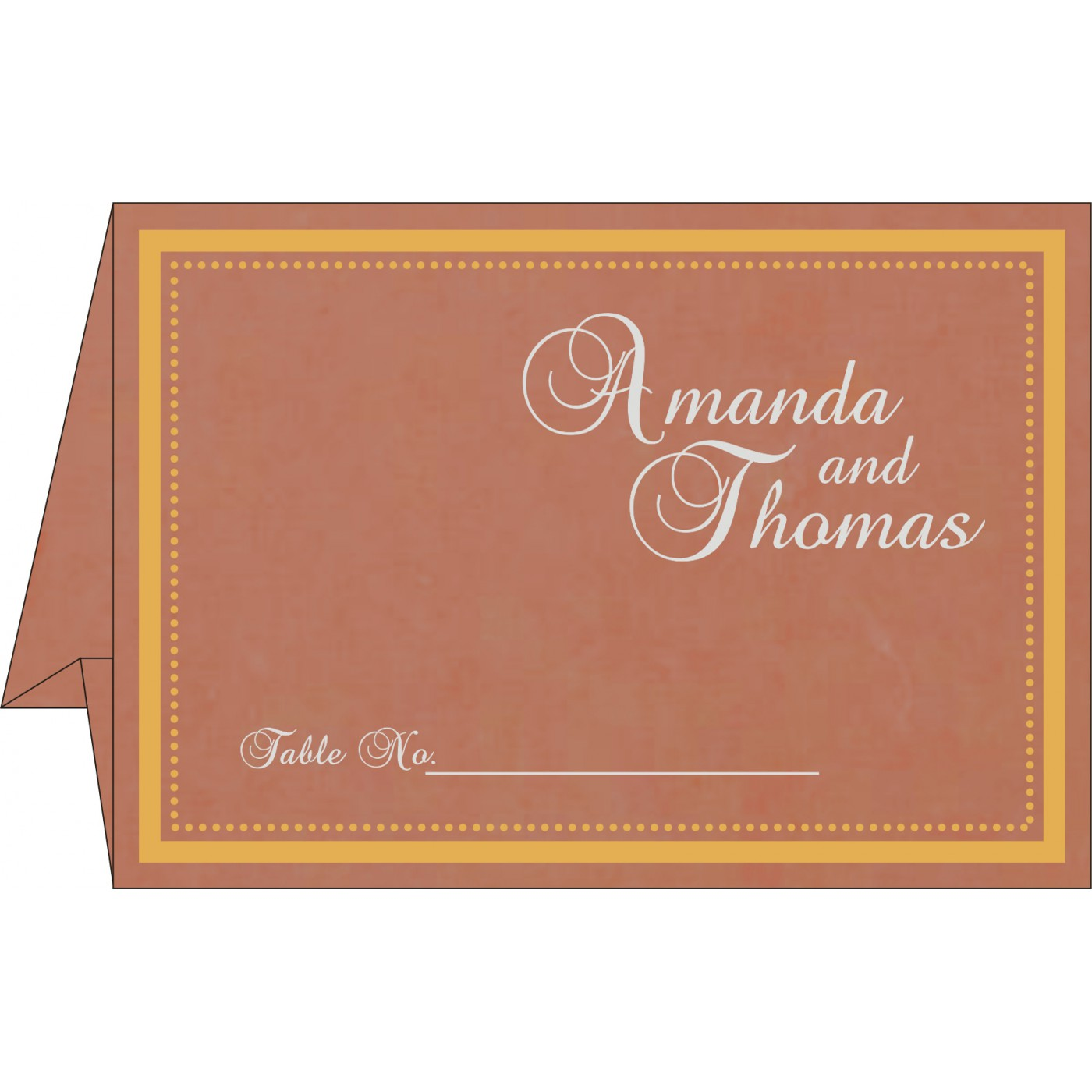 Table Cards : CTC-8219M - IndianWeddingCards