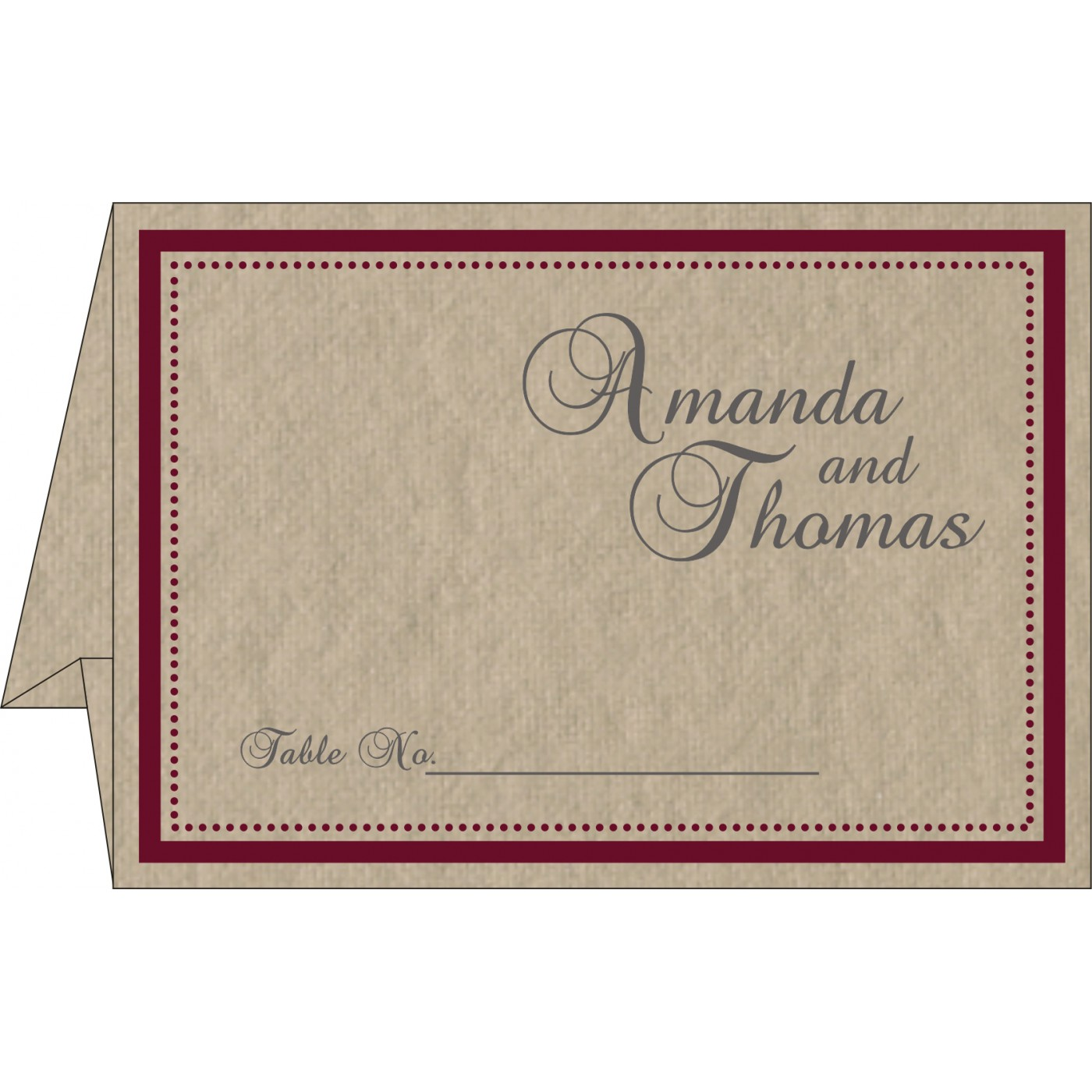 Table Cards : CTC-8219Q - IndianWeddingCards