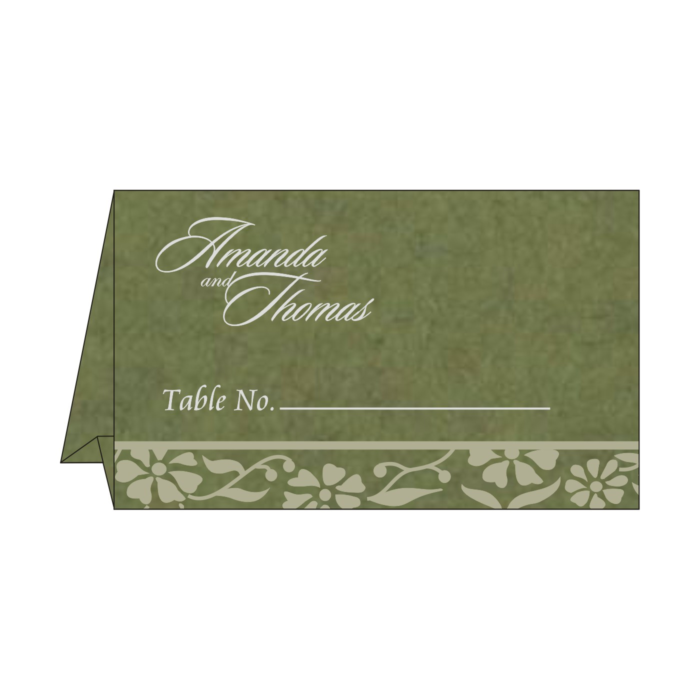 Table Cards : CTC-8222D - IndianWeddingCards