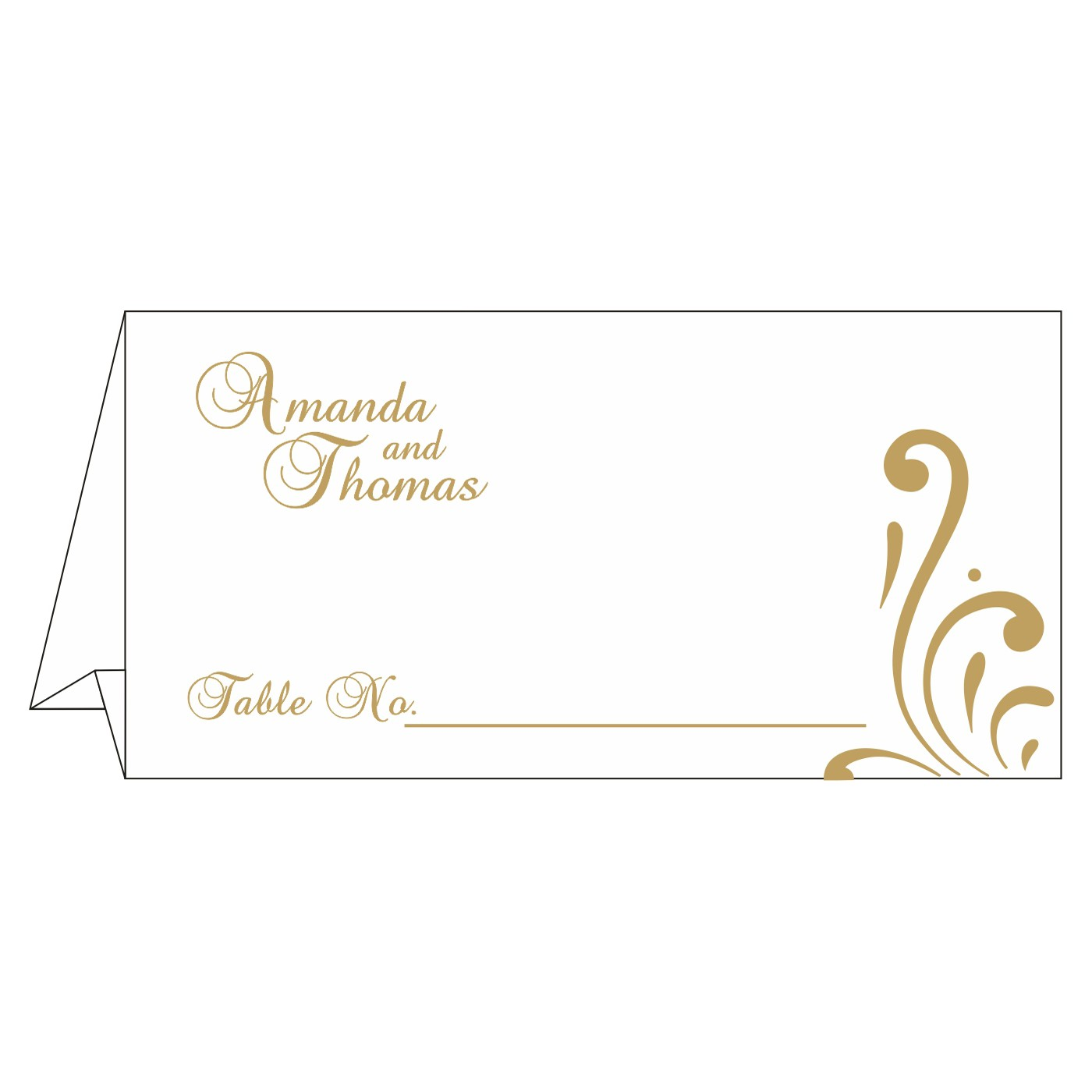 Table Cards : CTC-8223D - IndianWeddingCards