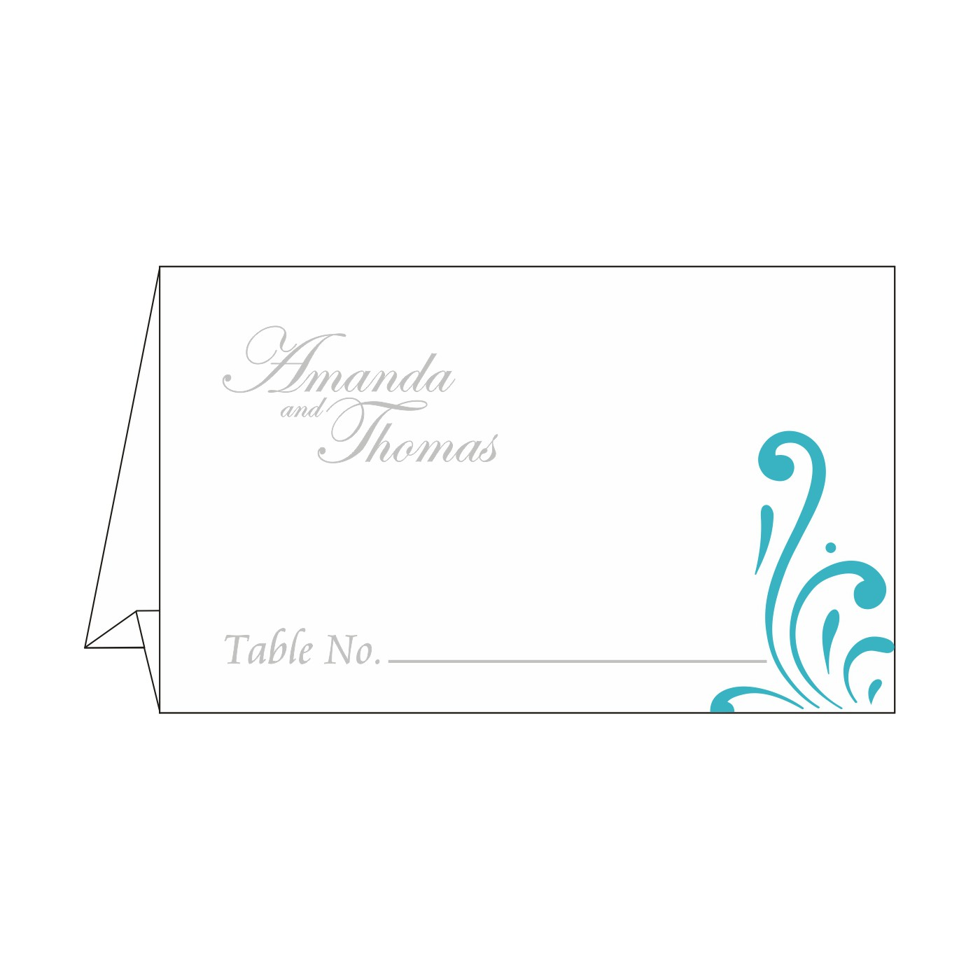 Table Cards : CTC-8223H - IndianWeddingCards