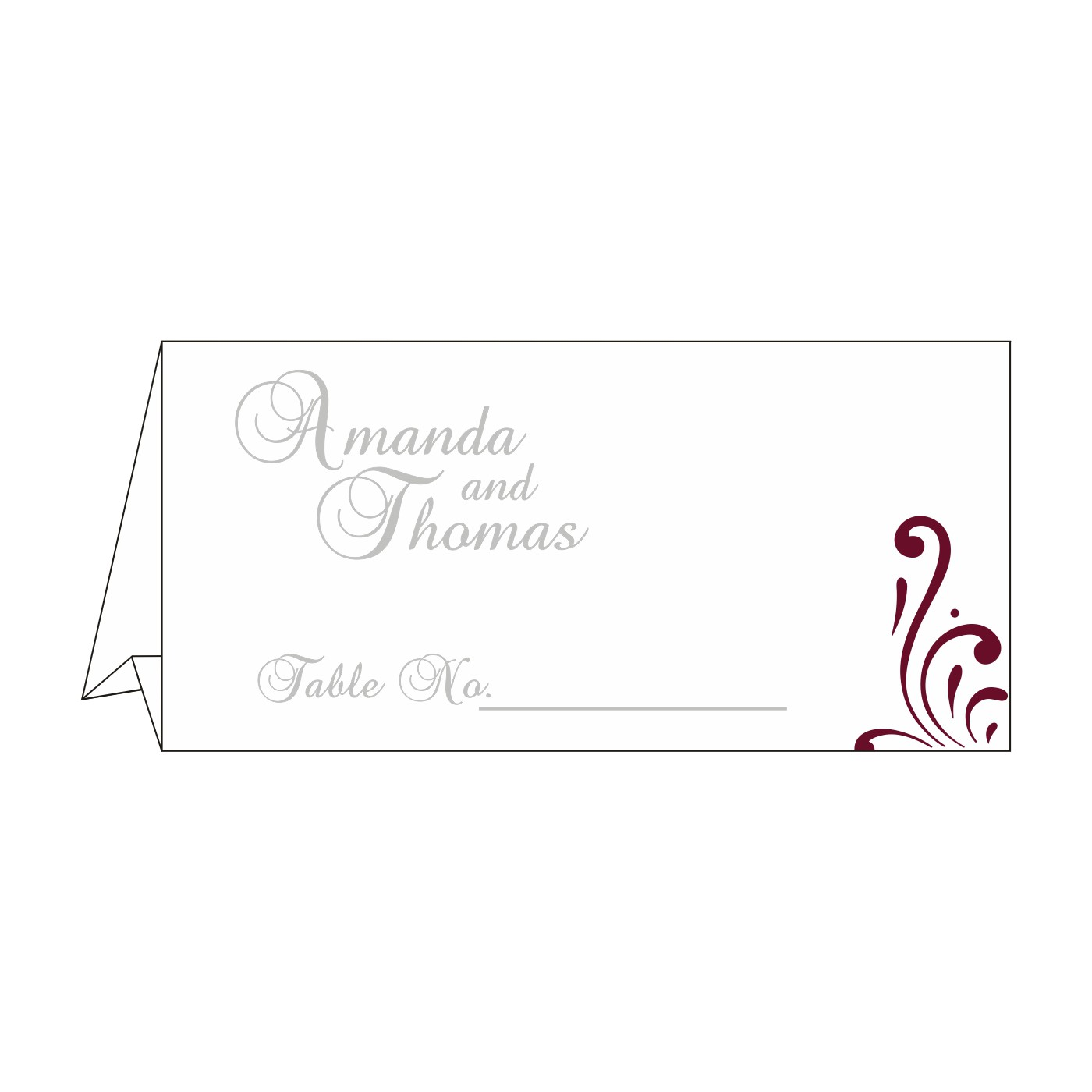 Table Cards : CTC-8223J - IndianWeddingCards