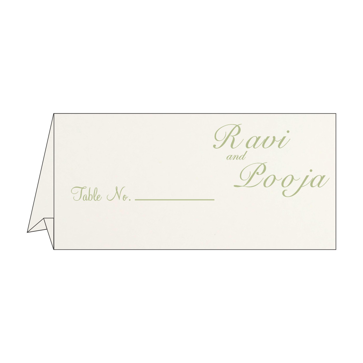 Table Cards : CTC-8225F - IndianWeddingCards