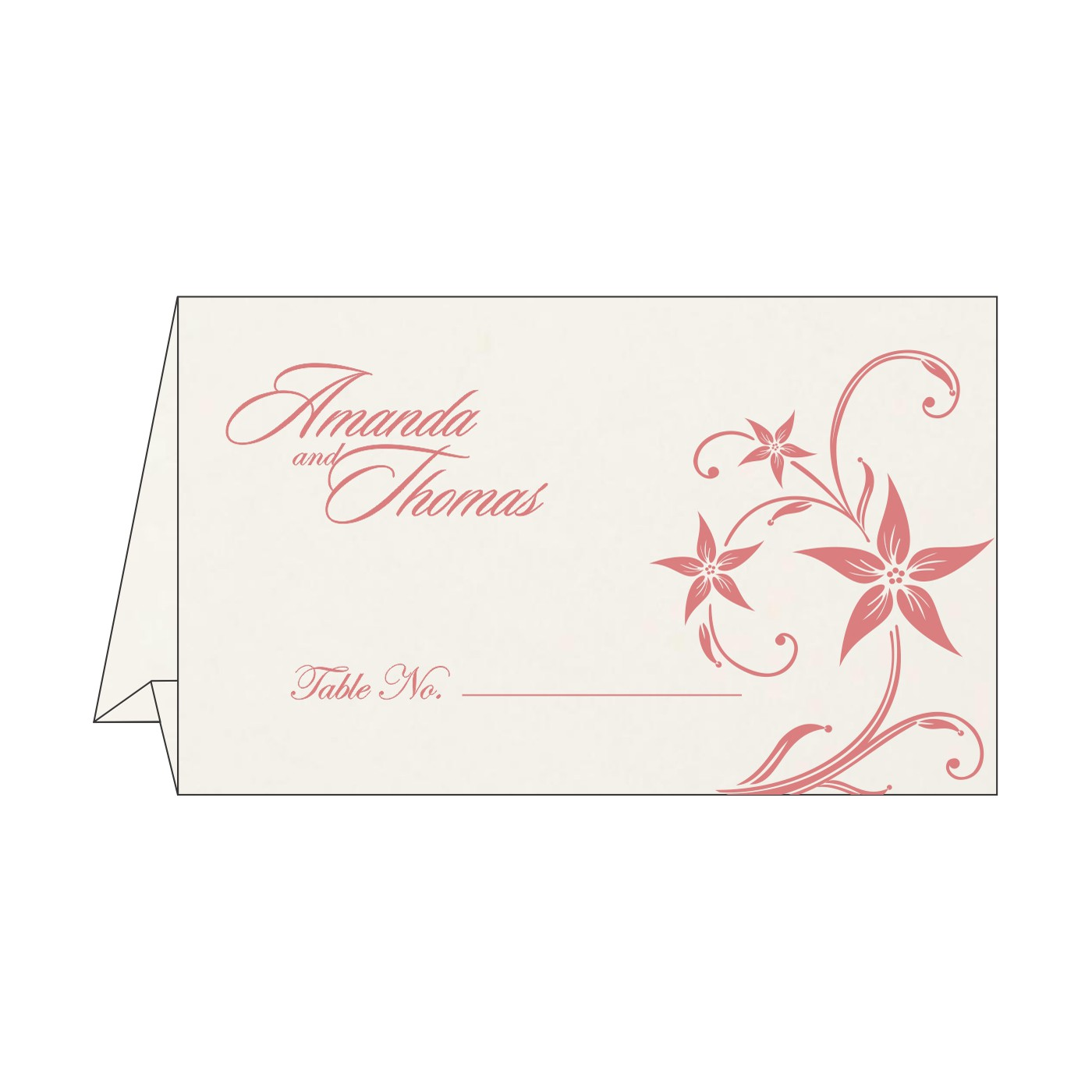 Table Cards : CTC-8225M - IndianWeddingCards