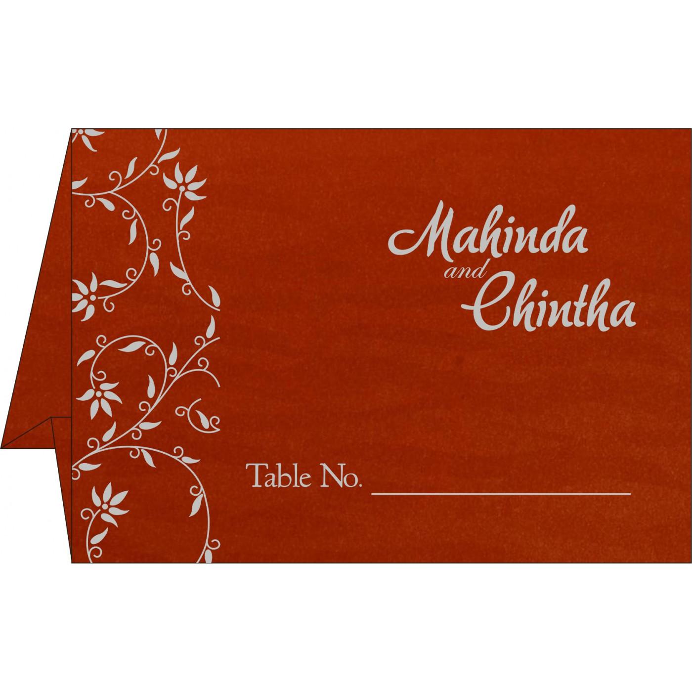 Table Cards : CTC-8226I - IndianWeddingCards