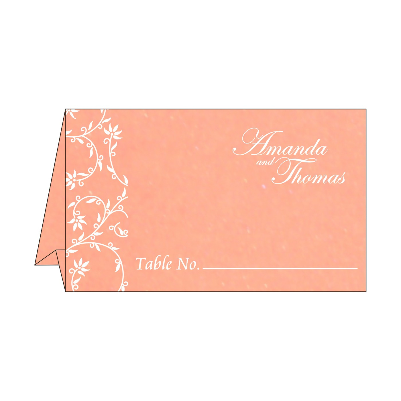 Table Cards : CTC-8226K - IndianWeddingCards