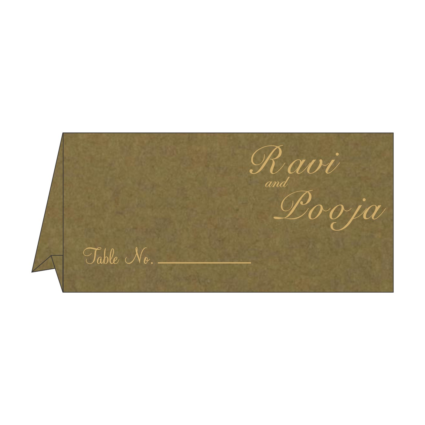 Table Cards : CTC-8227F - IndianWeddingCards
