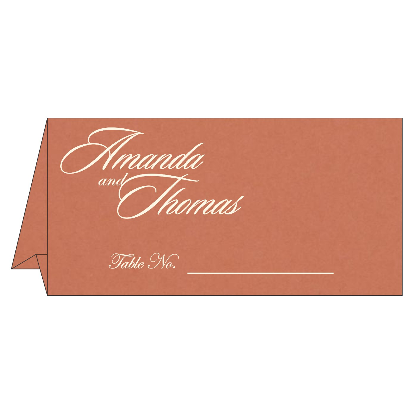 Table Cards : CTC-8227L - IndianWeddingCards
