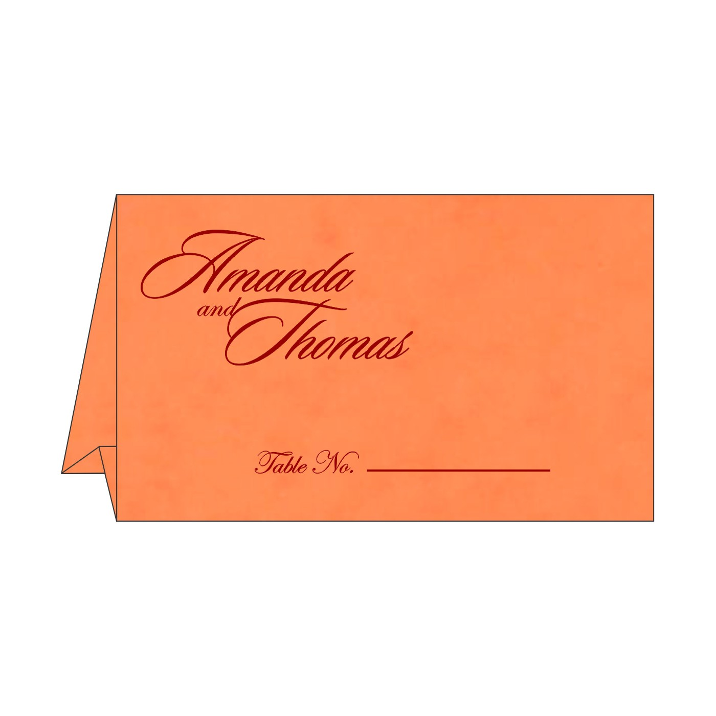 Table Cards : CTC-8227N - IndianWeddingCards