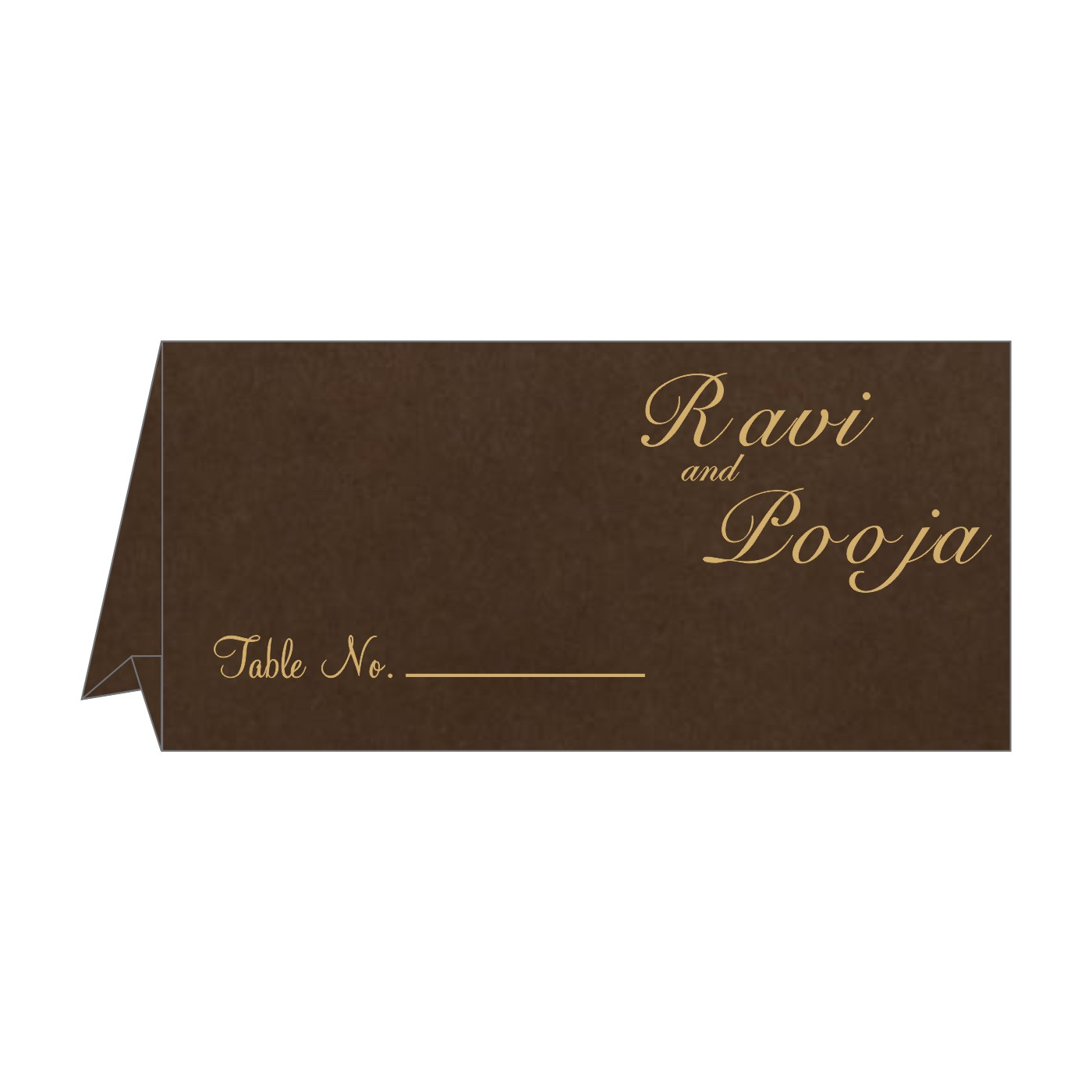 Table Cards : CTC-8227P - IndianWeddingCards