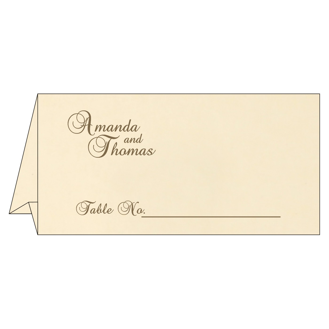 Table Cards : CTC-8229C - IndianWeddingCards