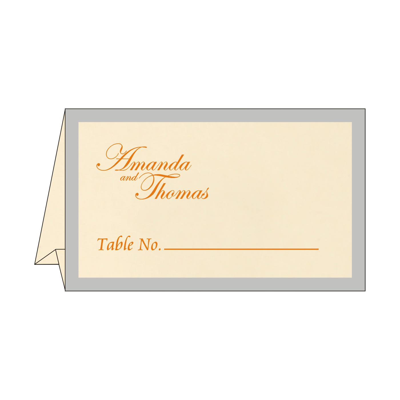 Table Cards : CTC-8229I - IndianWeddingCards