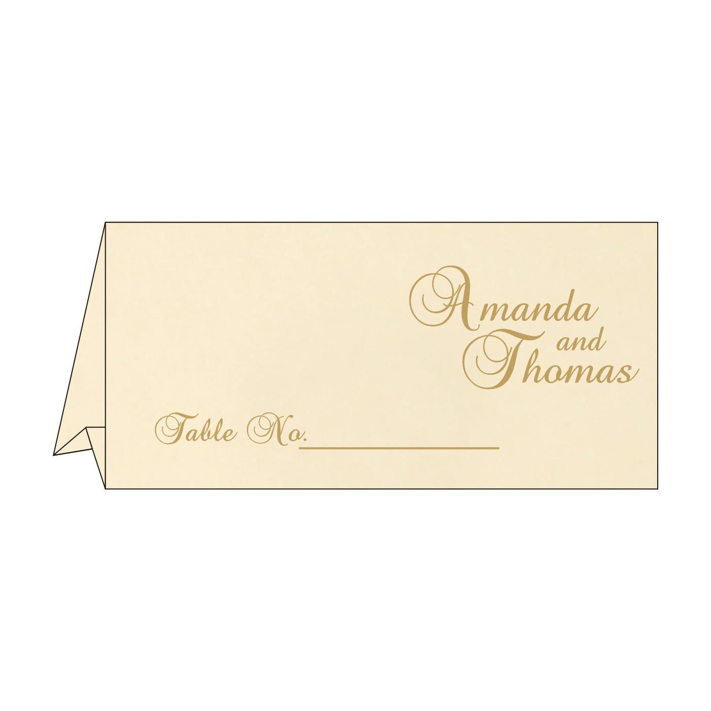 Table Cards : CTC-8229K - IndianWeddingCards