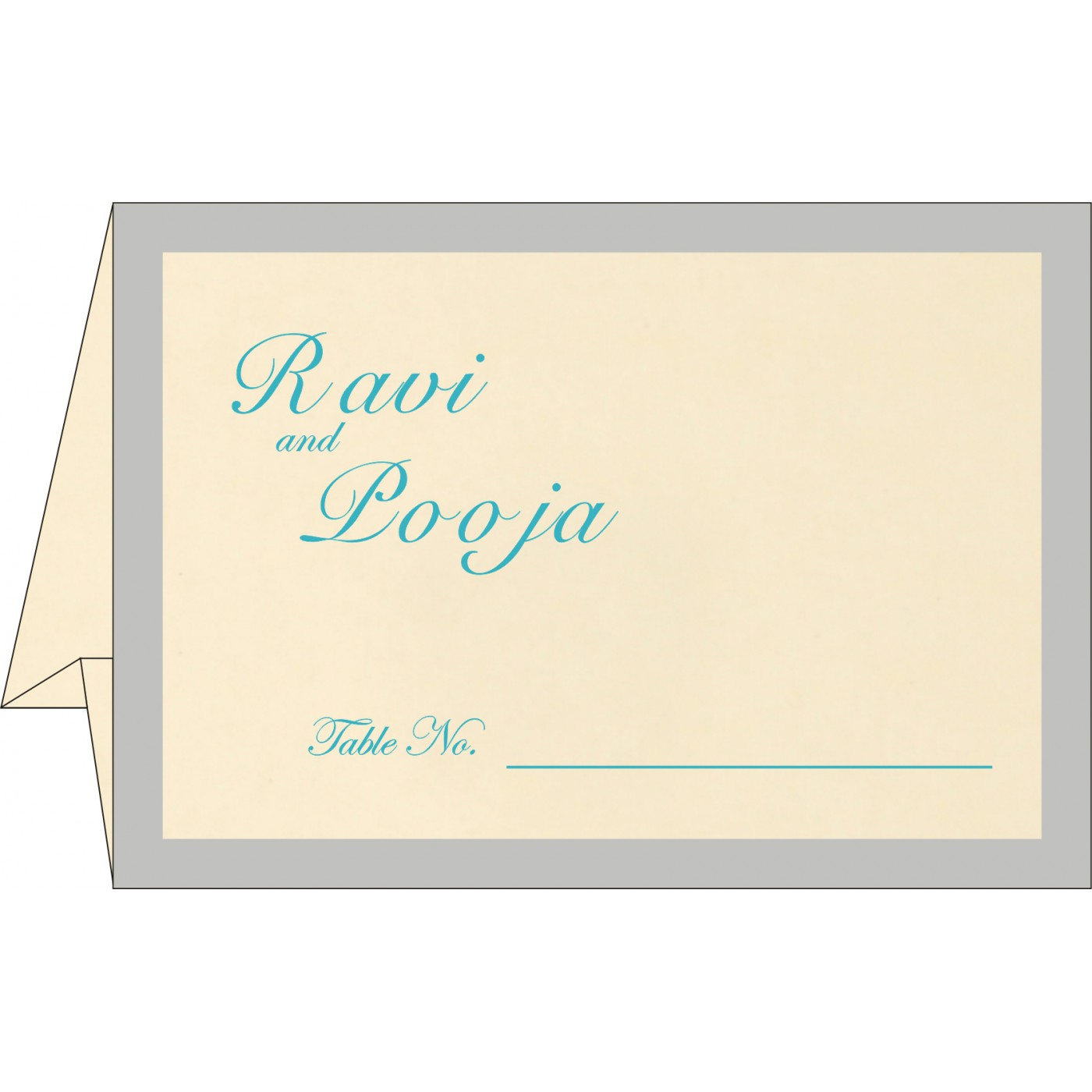 Table Cards : CTC-8229M - IndianWeddingCards