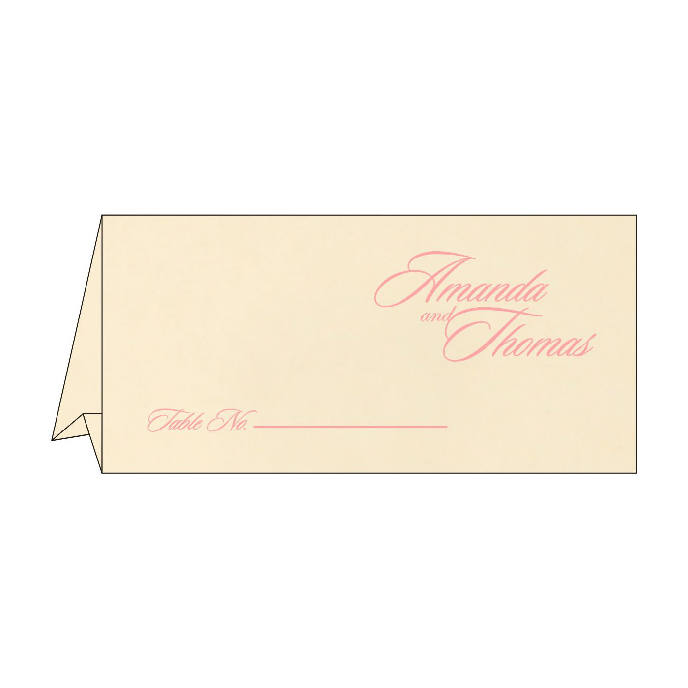 Table Cards : CTC-8229Q - IndianWeddingCards