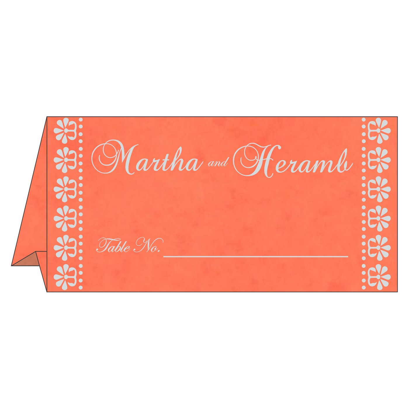 Table Cards : CTC-8231M - IndianWeddingCards