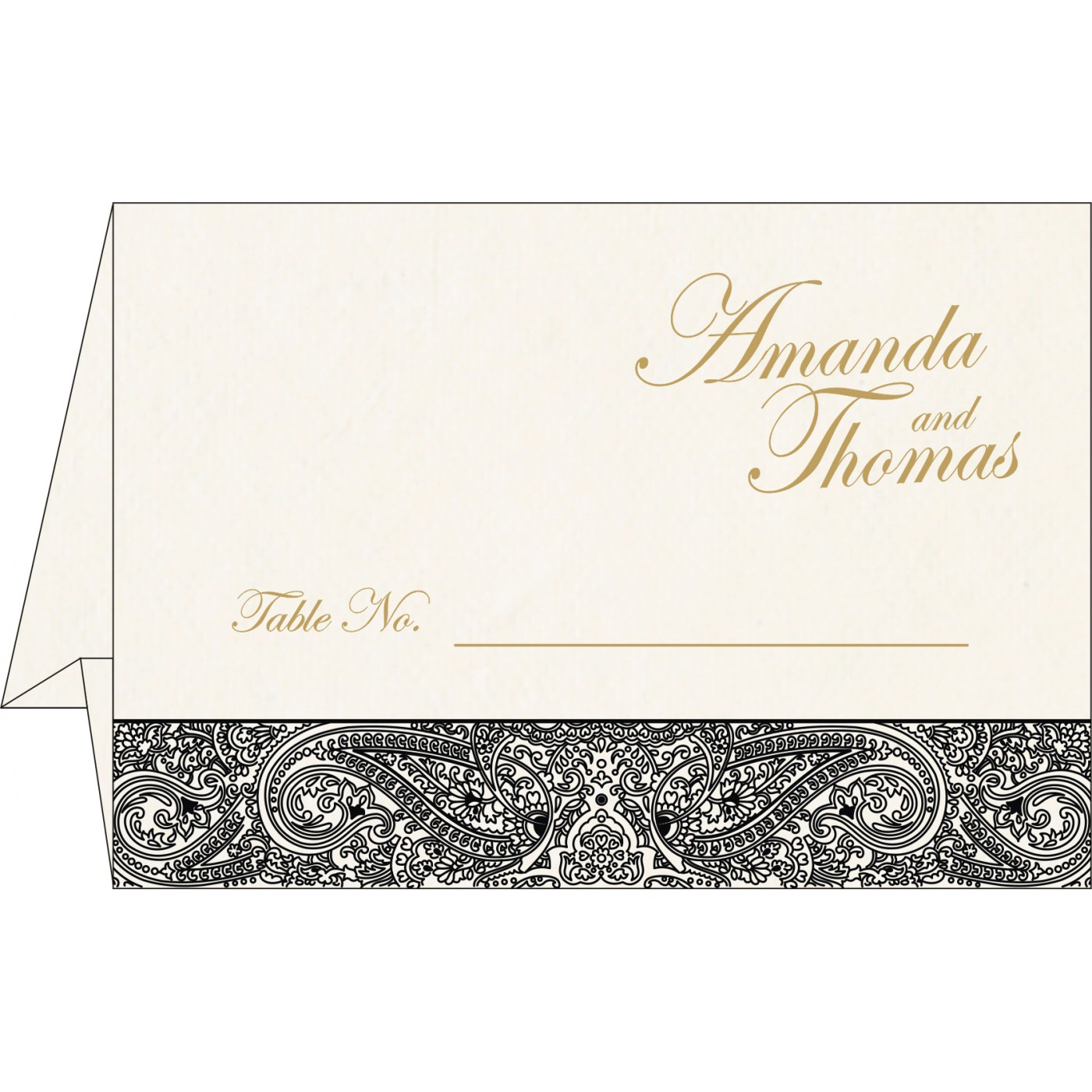 Table Cards : CTC-8234A - IndianWeddingCards