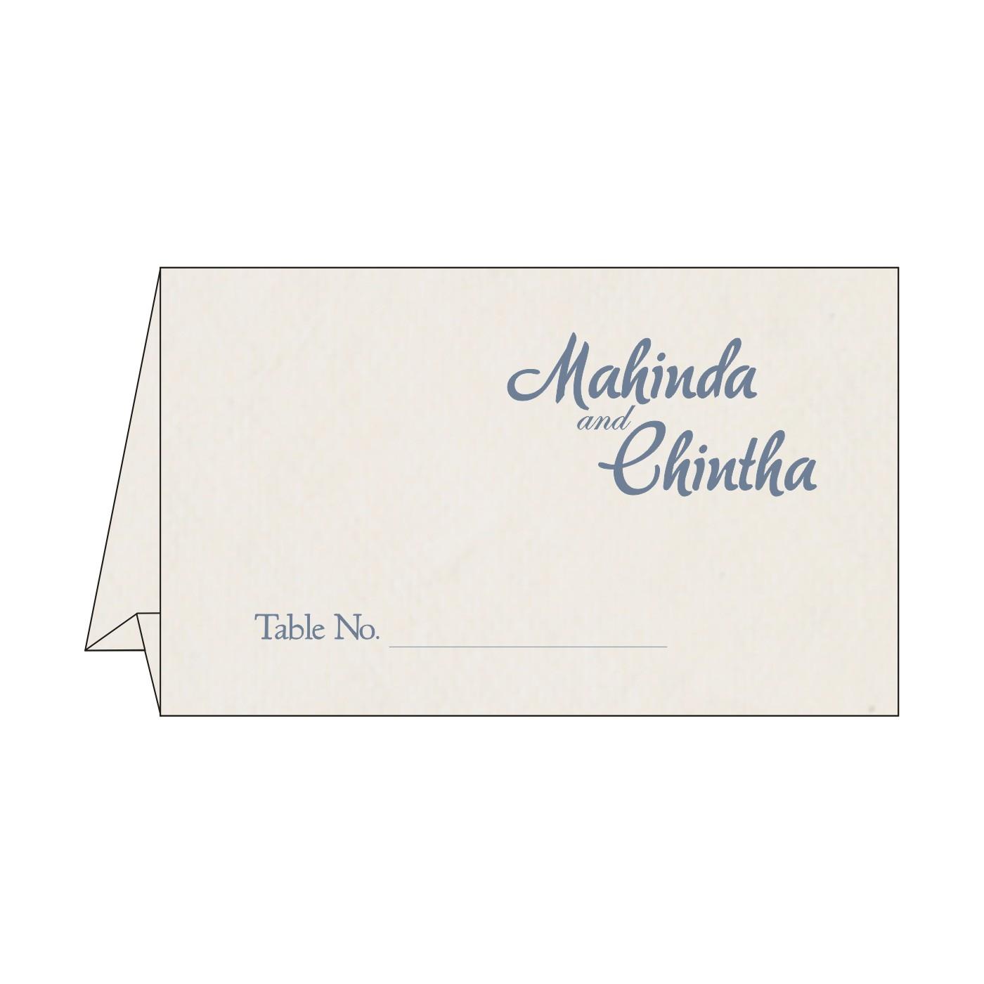 Table Cards : CTC-8234J - IndianWeddingCards