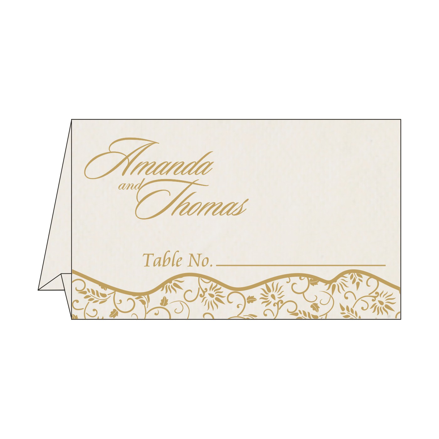 Table Cards : CTC-8236B - IndianWeddingCards