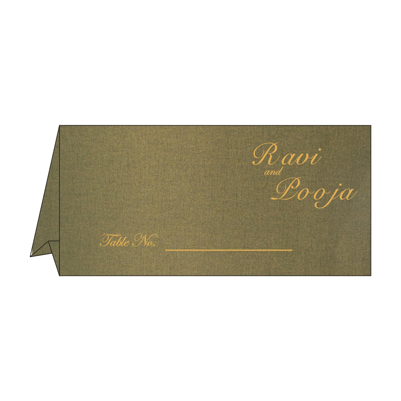 Table Cards : CTC-8236H - IndianWeddingCards