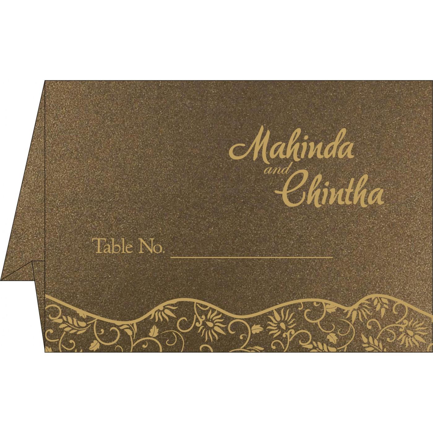 Table Cards : CTC-8236I - IndianWeddingCards