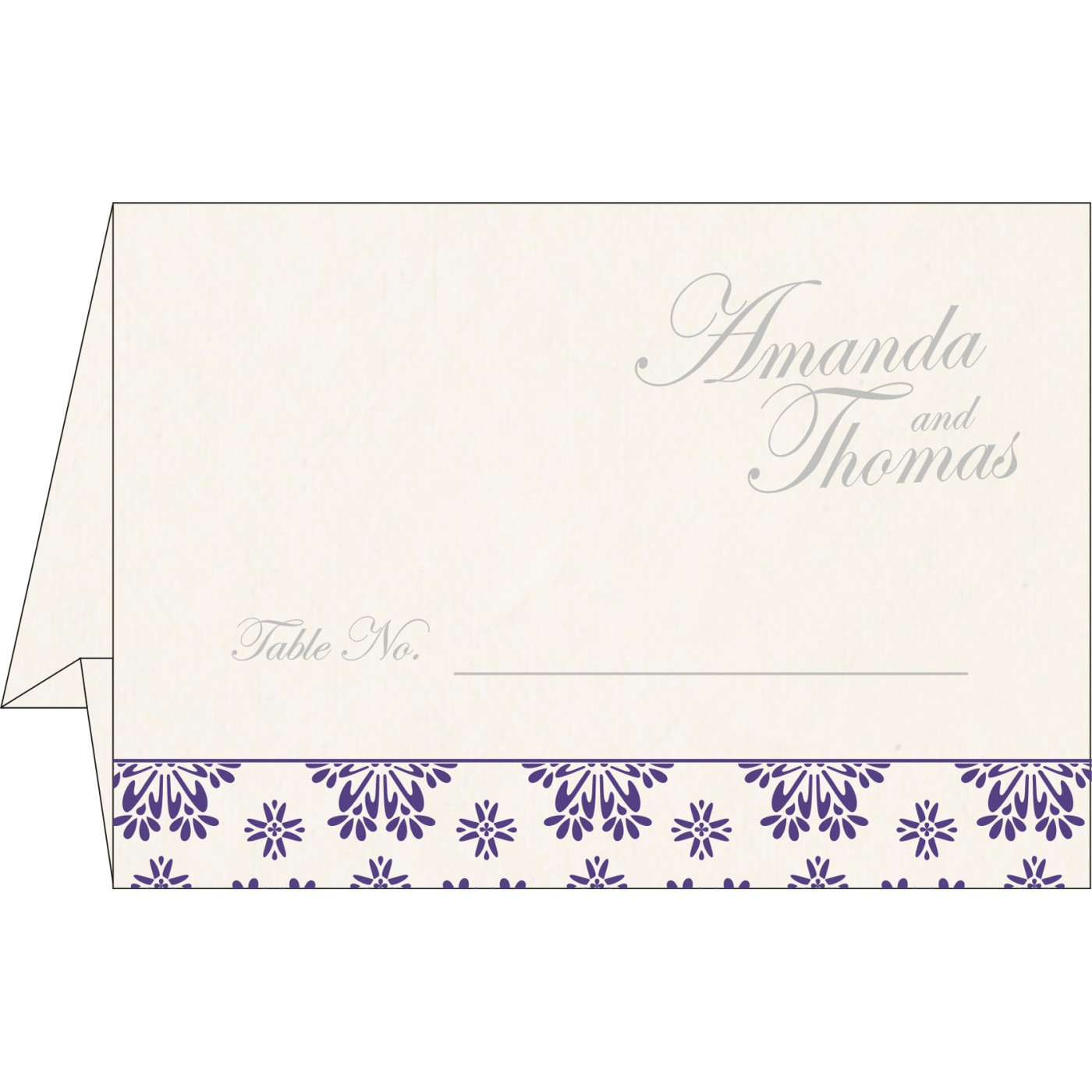 Table Cards : CTC-8237A - IndianWeddingCards