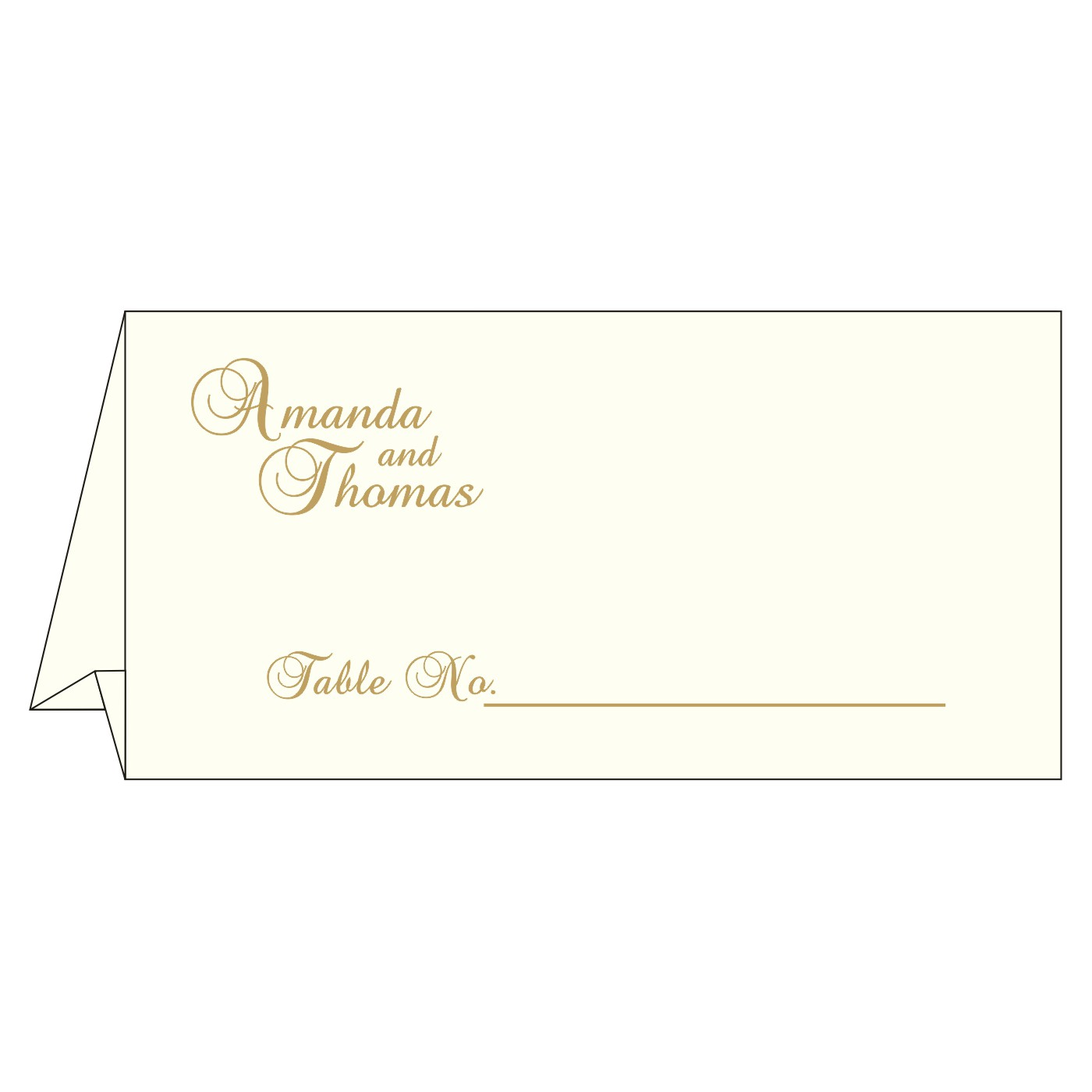 Table Cards : CTC-8237E - IndianWeddingCards