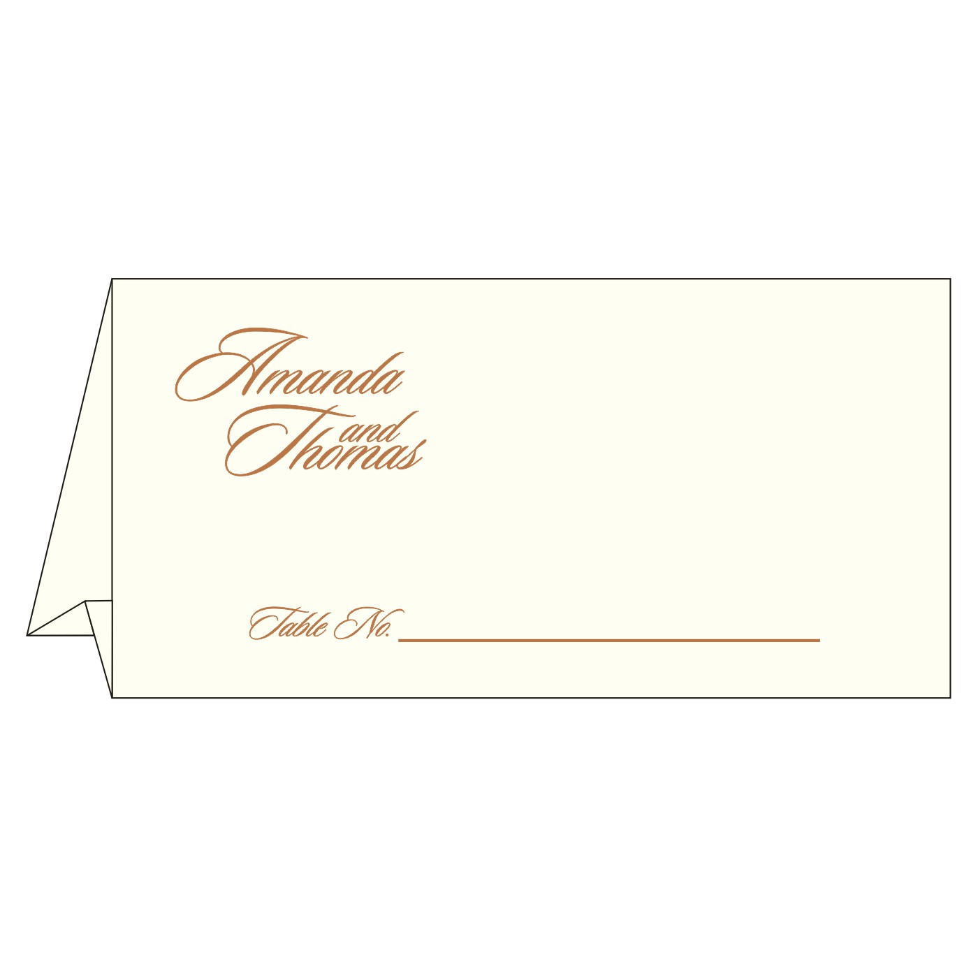 Table Cards : CTC-8237J - IndianWeddingCards