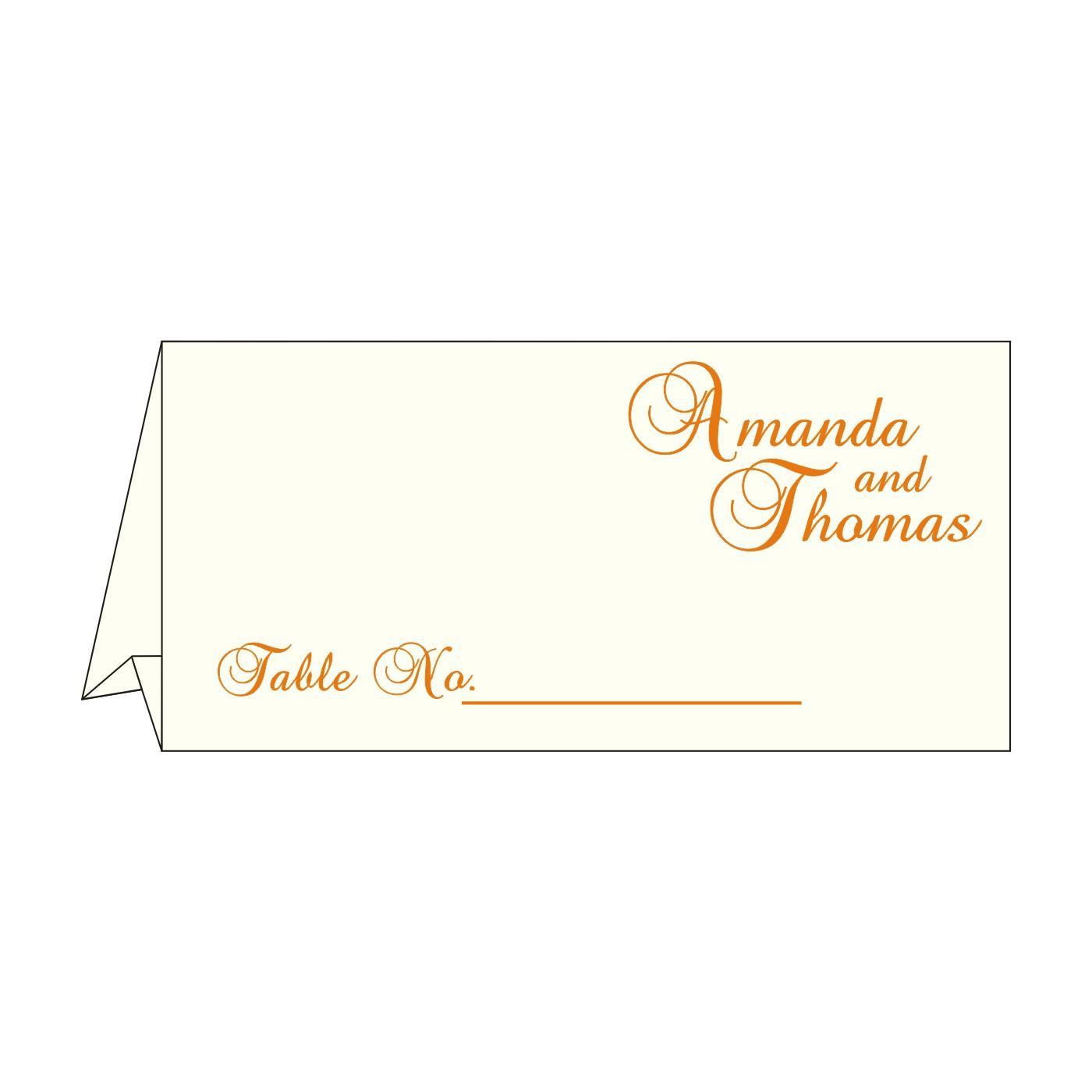 Table Cards : CTC-8237K - IndianWeddingCards