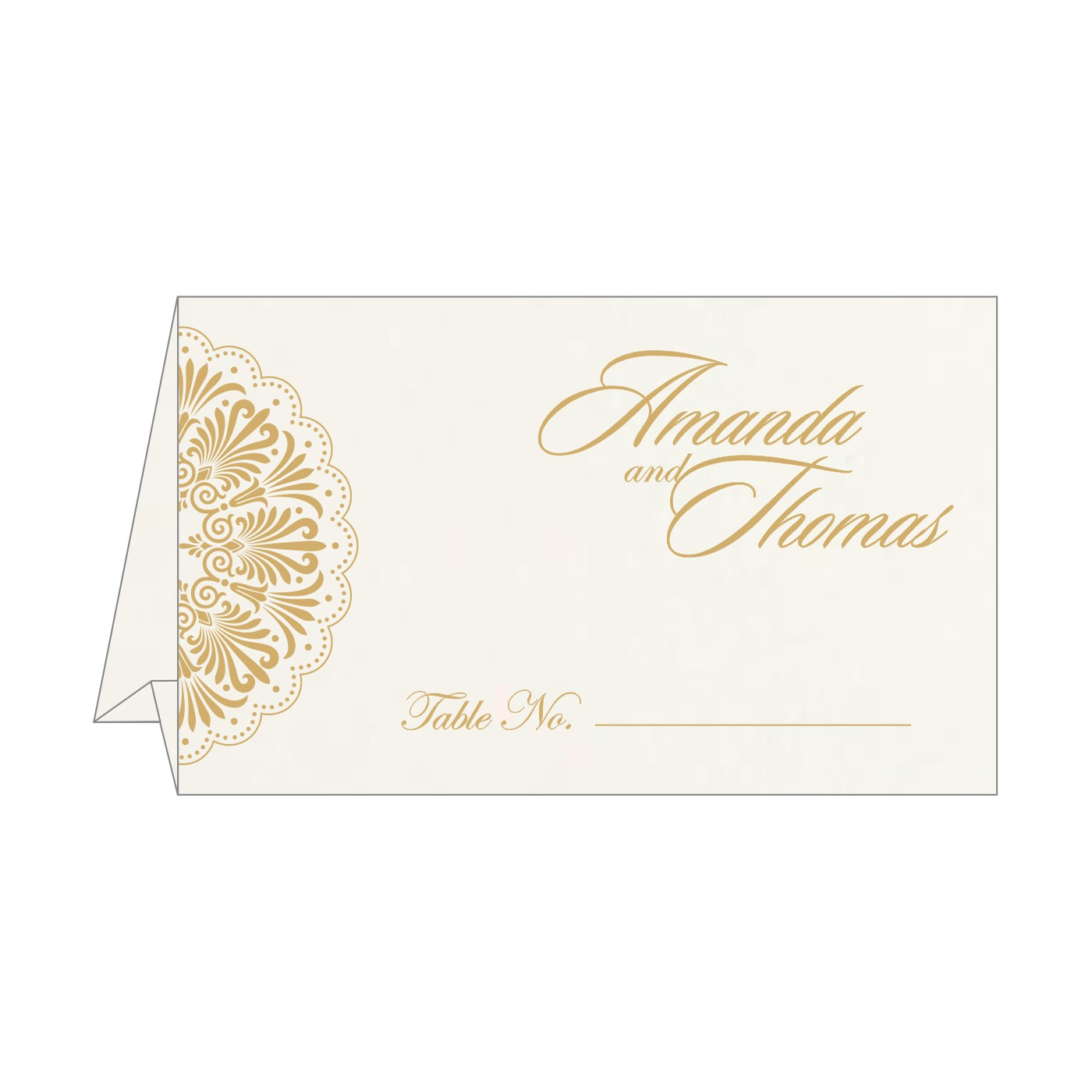 Table Cards : CTC-8238D - IndianWeddingCards