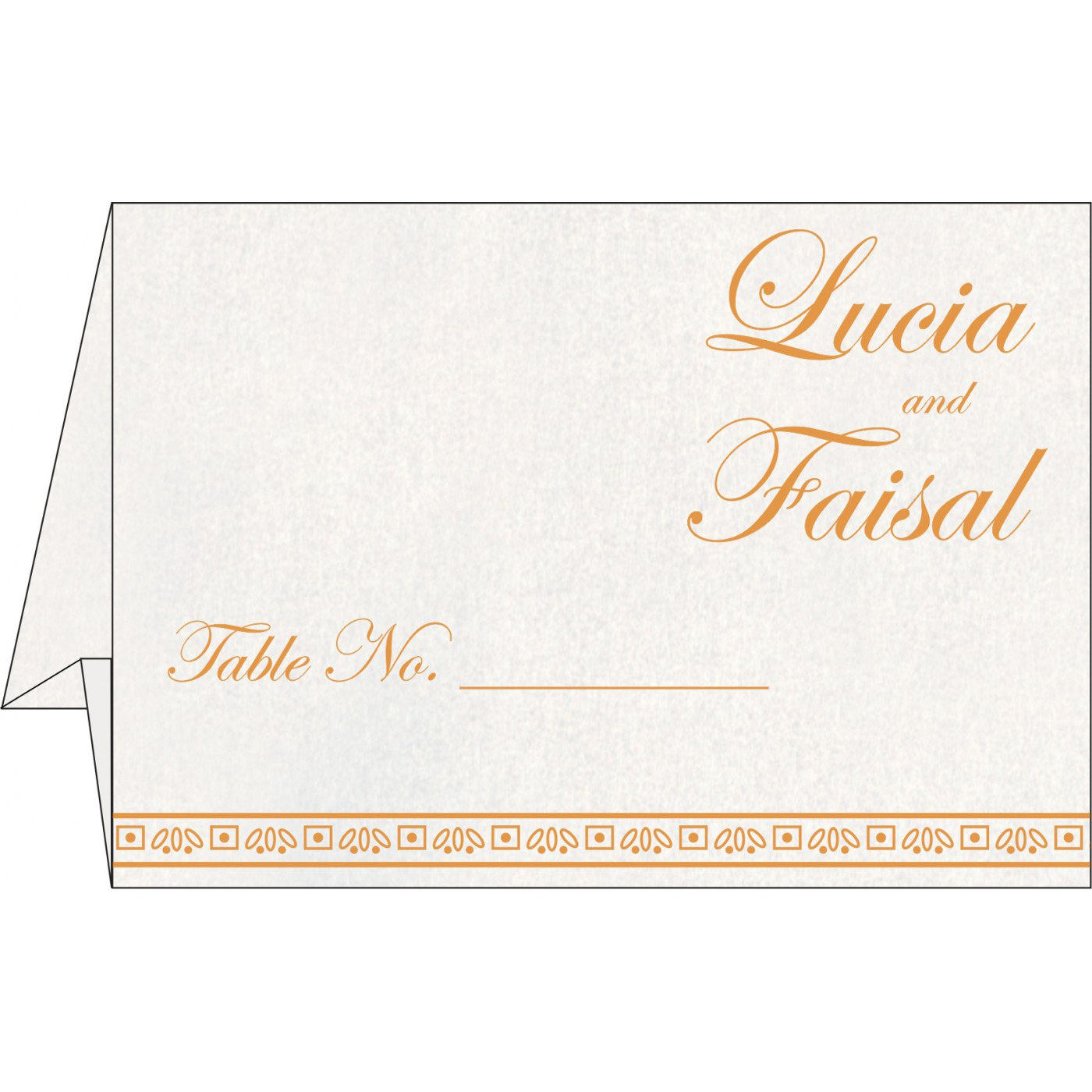 Table Cards : CTC-8241H - IndianWeddingCards
