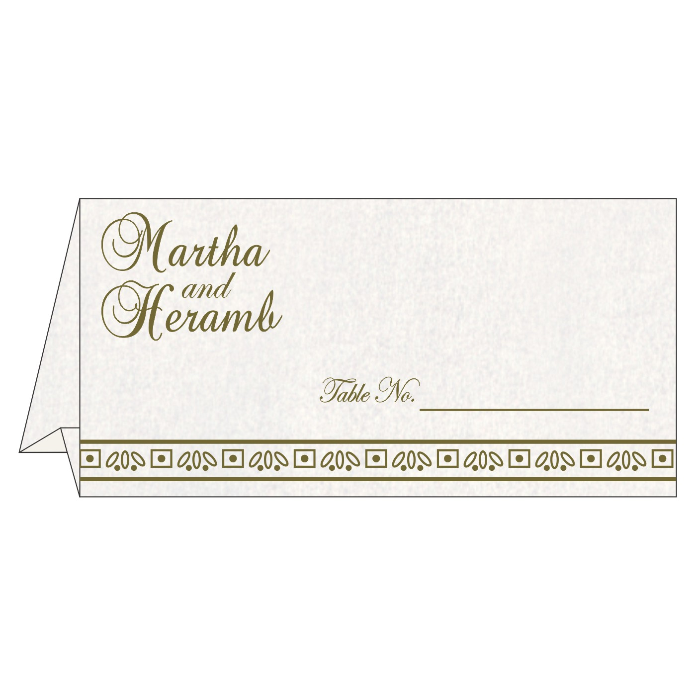 Table Cards : CTC-8241L - IndianWeddingCards