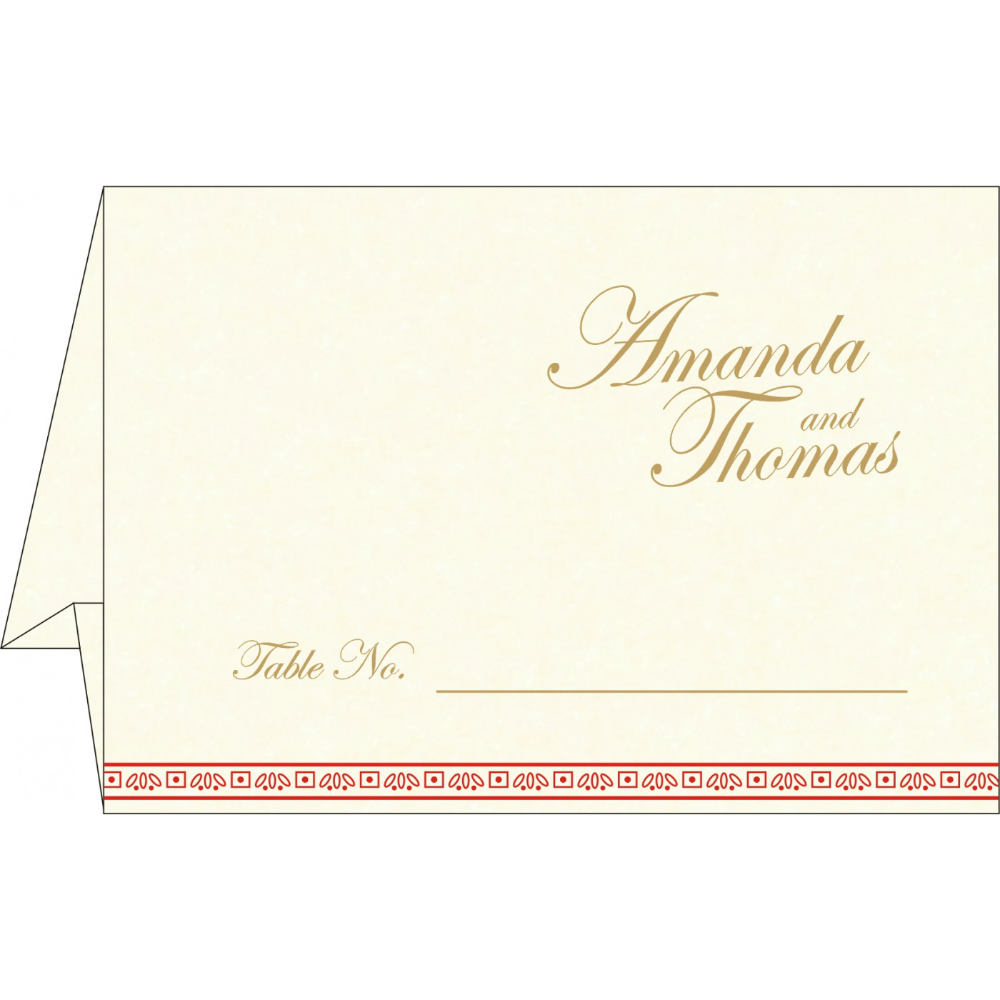 Table Cards : CTC-8242A - IndianWeddingCards