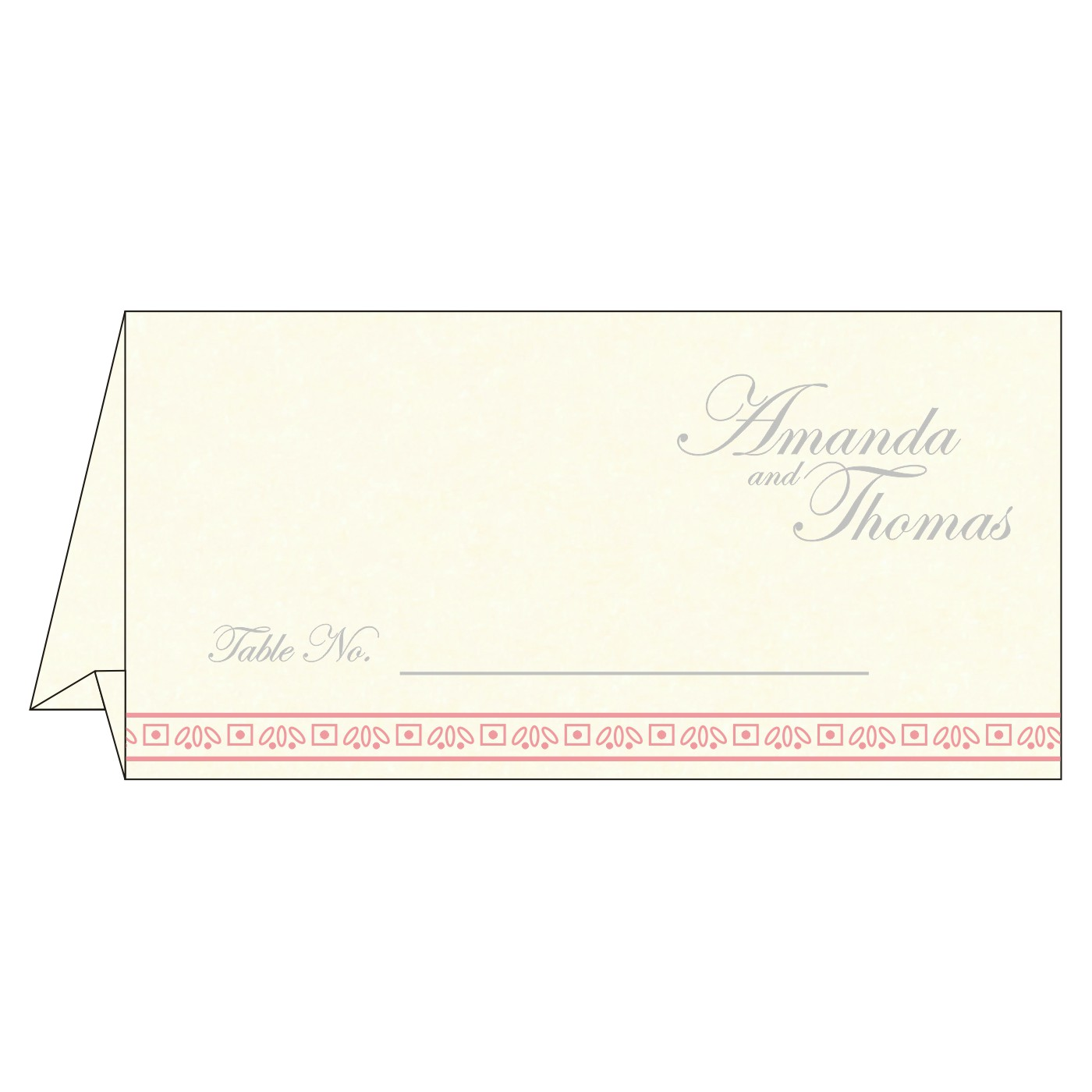 Table Cards : CTC-8242N - IndianWeddingCards
