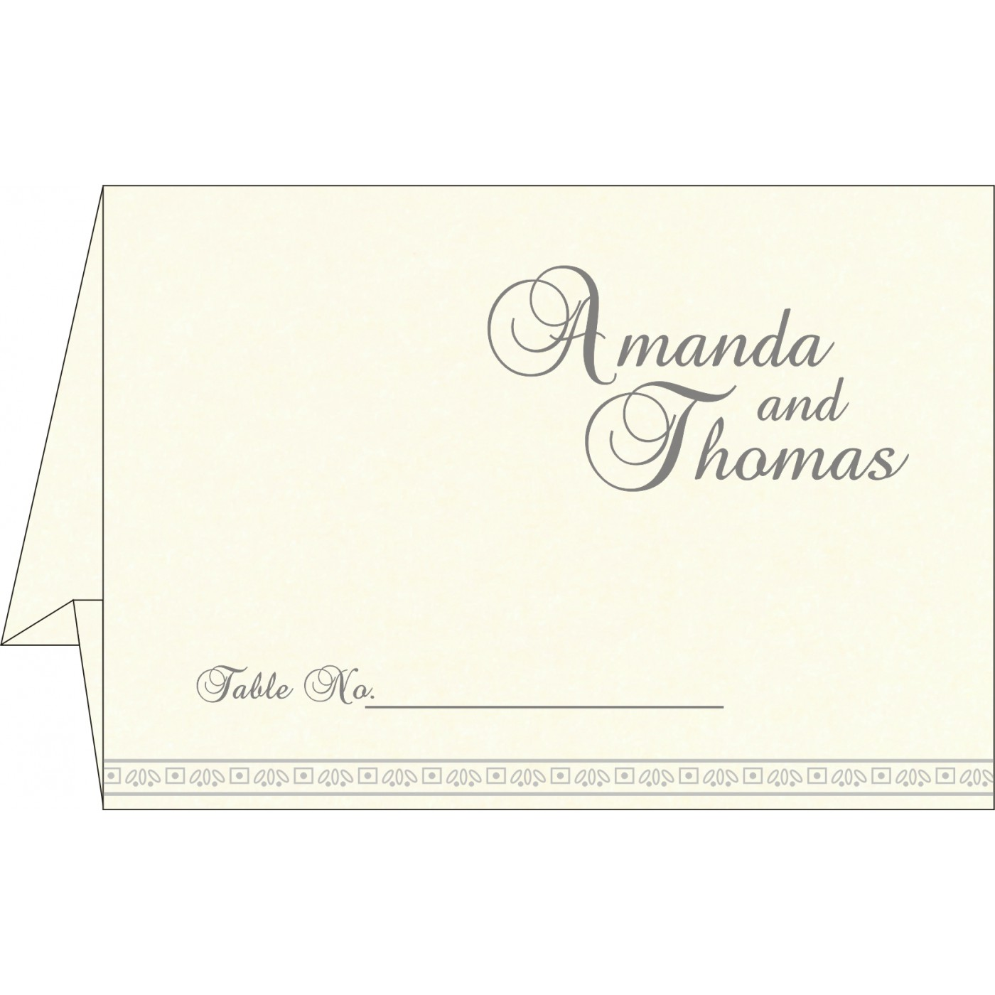 Table Cards : CTC-8242P - IndianWeddingCards