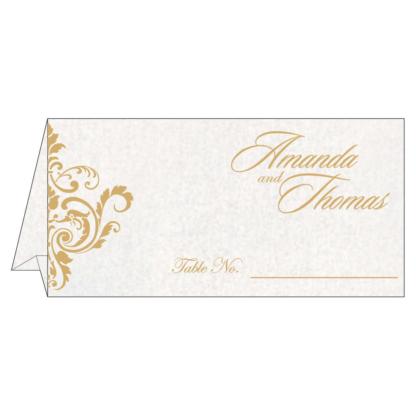 Table Cards : CTC-8244H - IndianWeddingCards