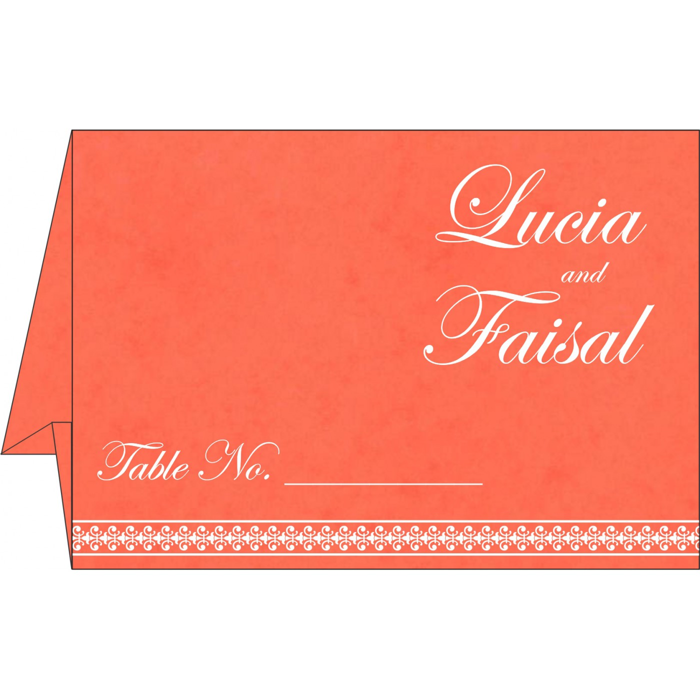 Table Cards : CTC-8247I - IndianWeddingCards