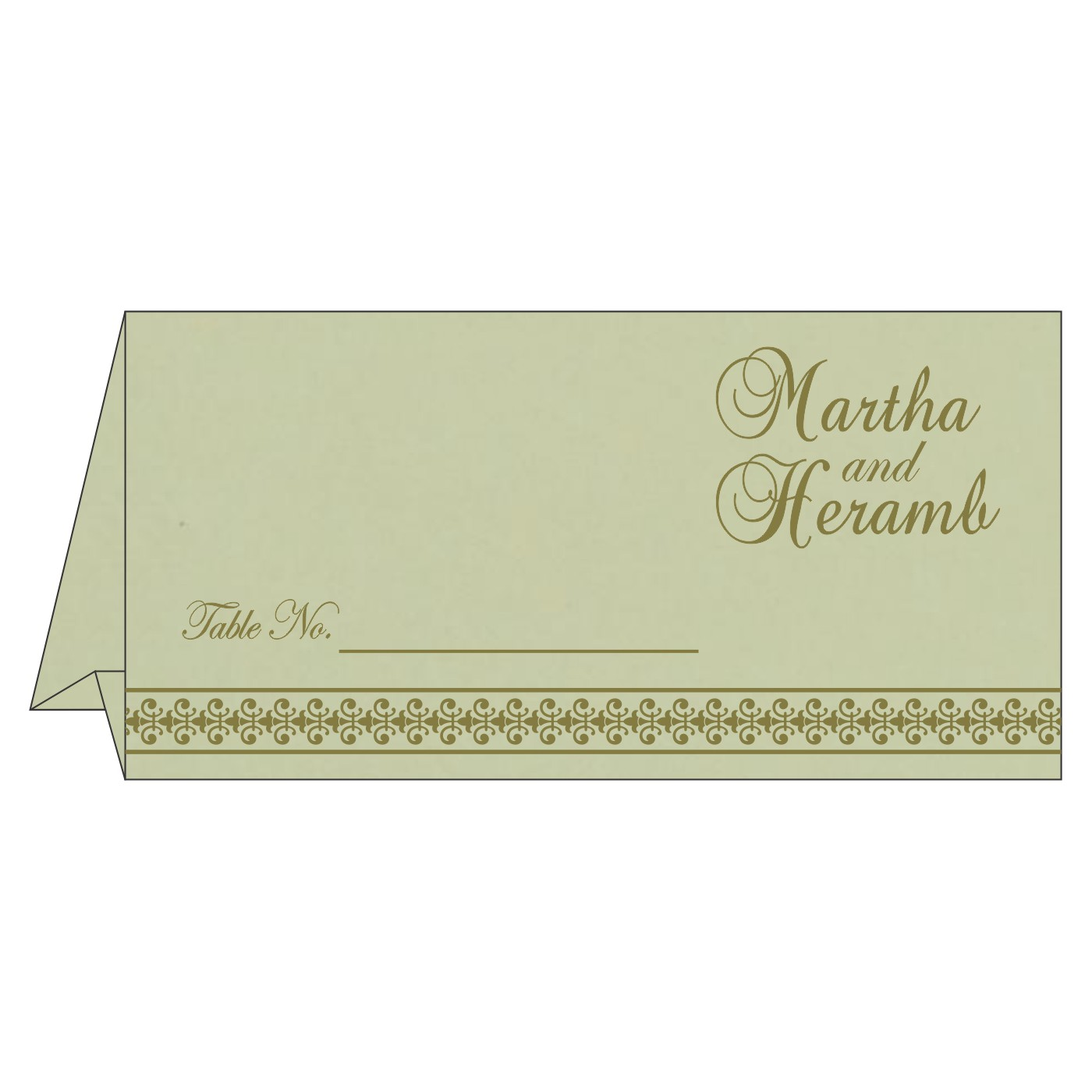 Table Cards : CTC-8247L - IndianWeddingCards