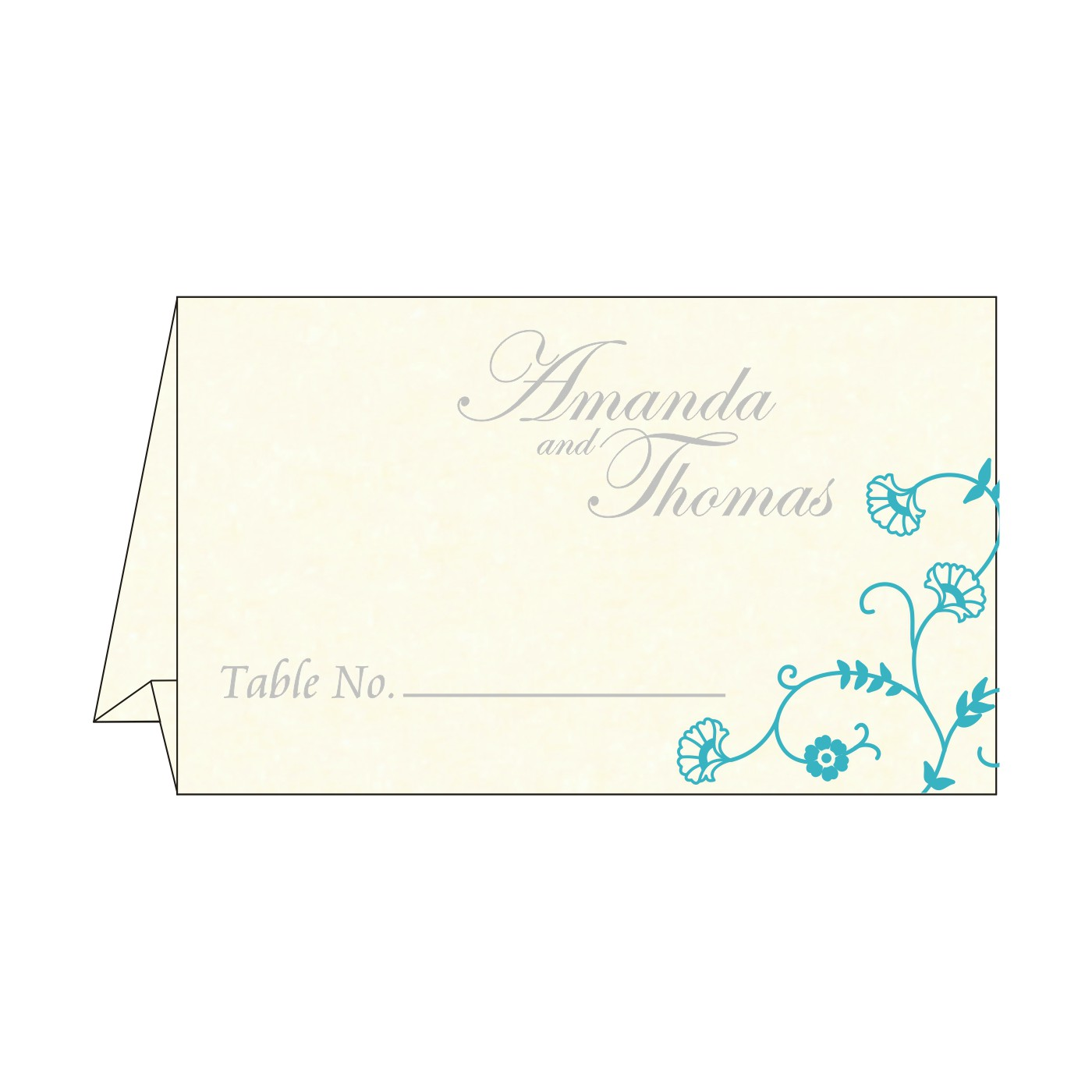 Table Cards : CTC-8248F - IndianWeddingCards