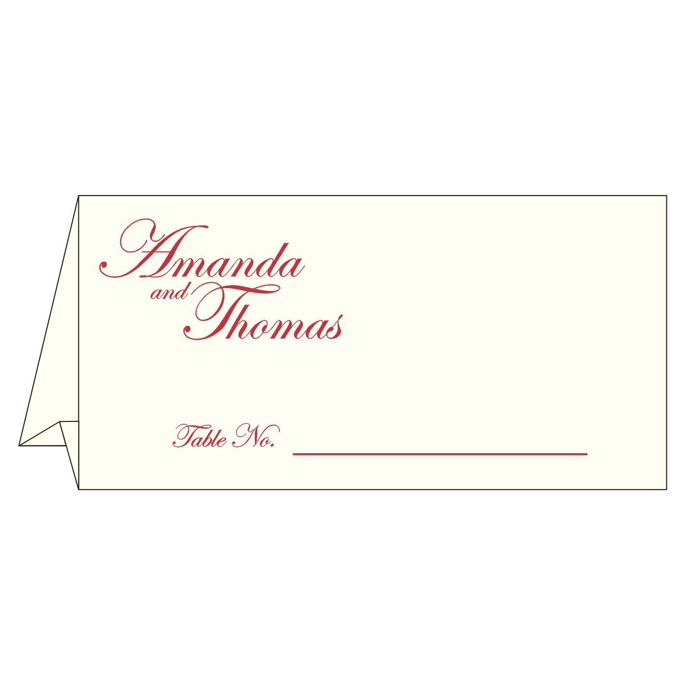 Table Cards : CTC-8249L - IndianWeddingCards