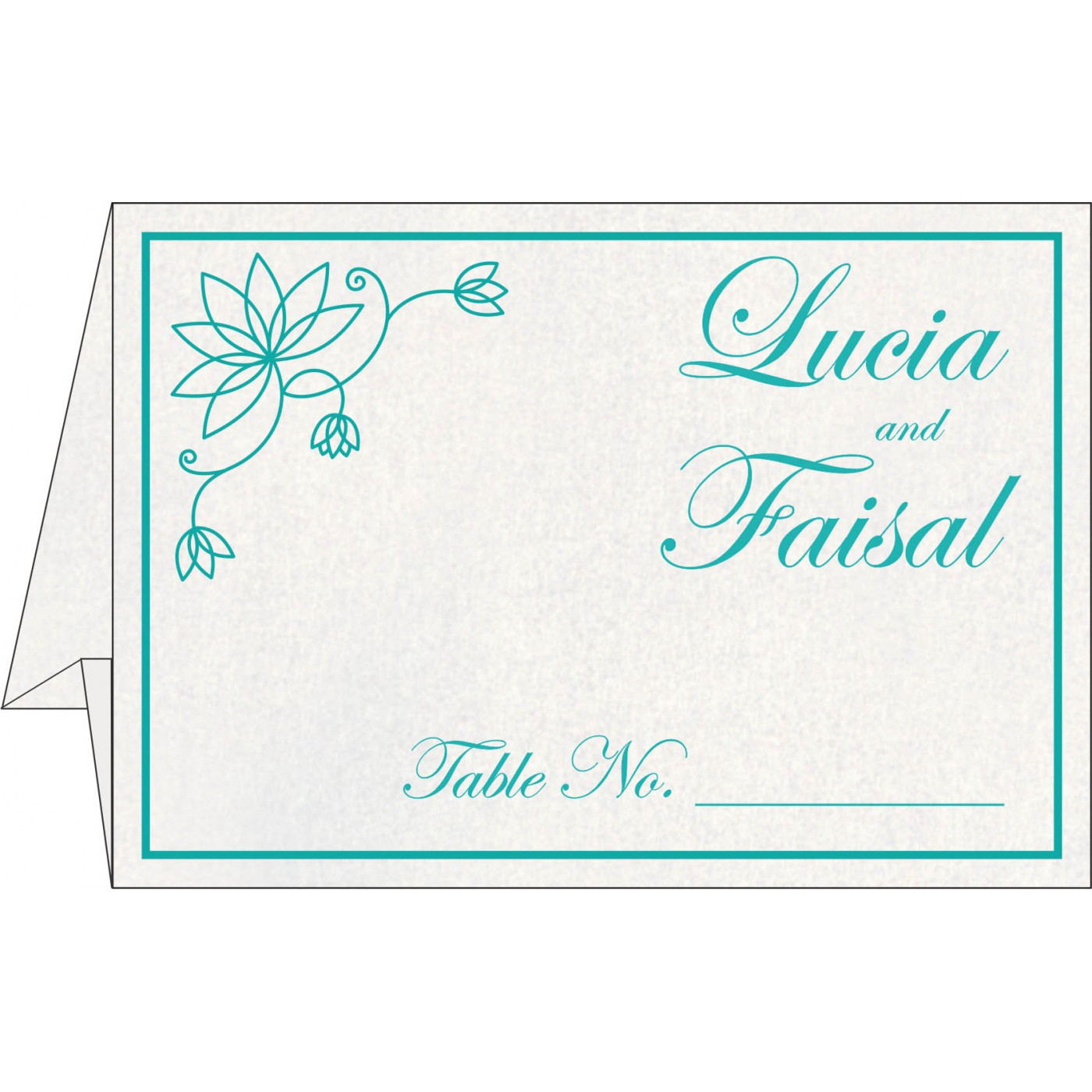 Table Cards : CTC-8251A - IndianWeddingCards