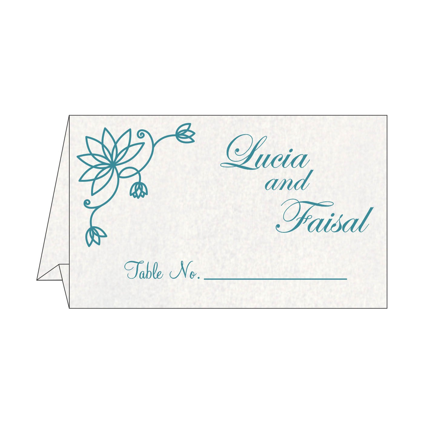 Table Cards : CTC-8251G - IndianWeddingCards
