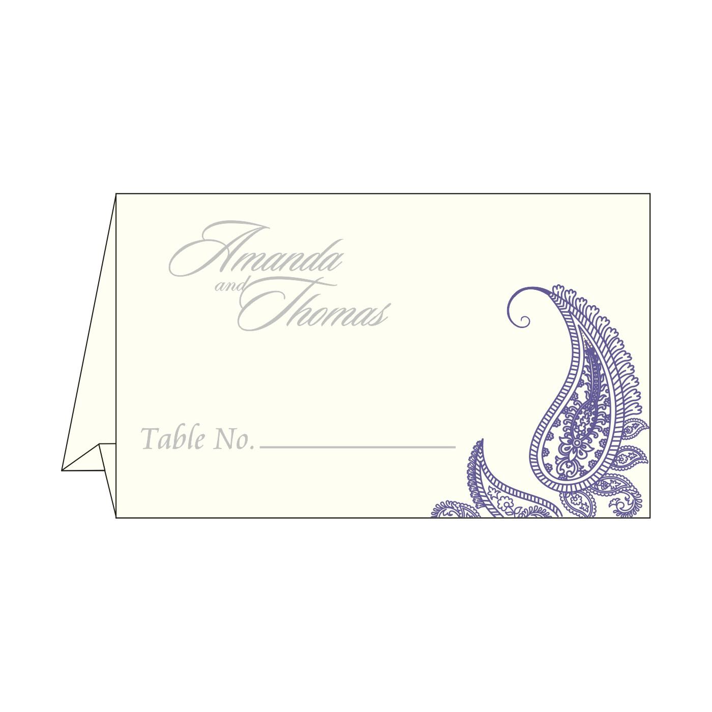 Table Cards : CTC-8252B - IndianWeddingCards